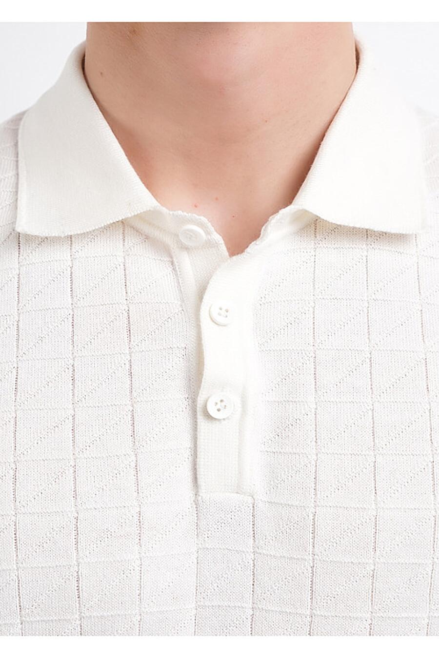Поло для мужчин CLEVER 169322 купить оптом от производителя. Совместная покупка мужской одежды в OptMoyo
