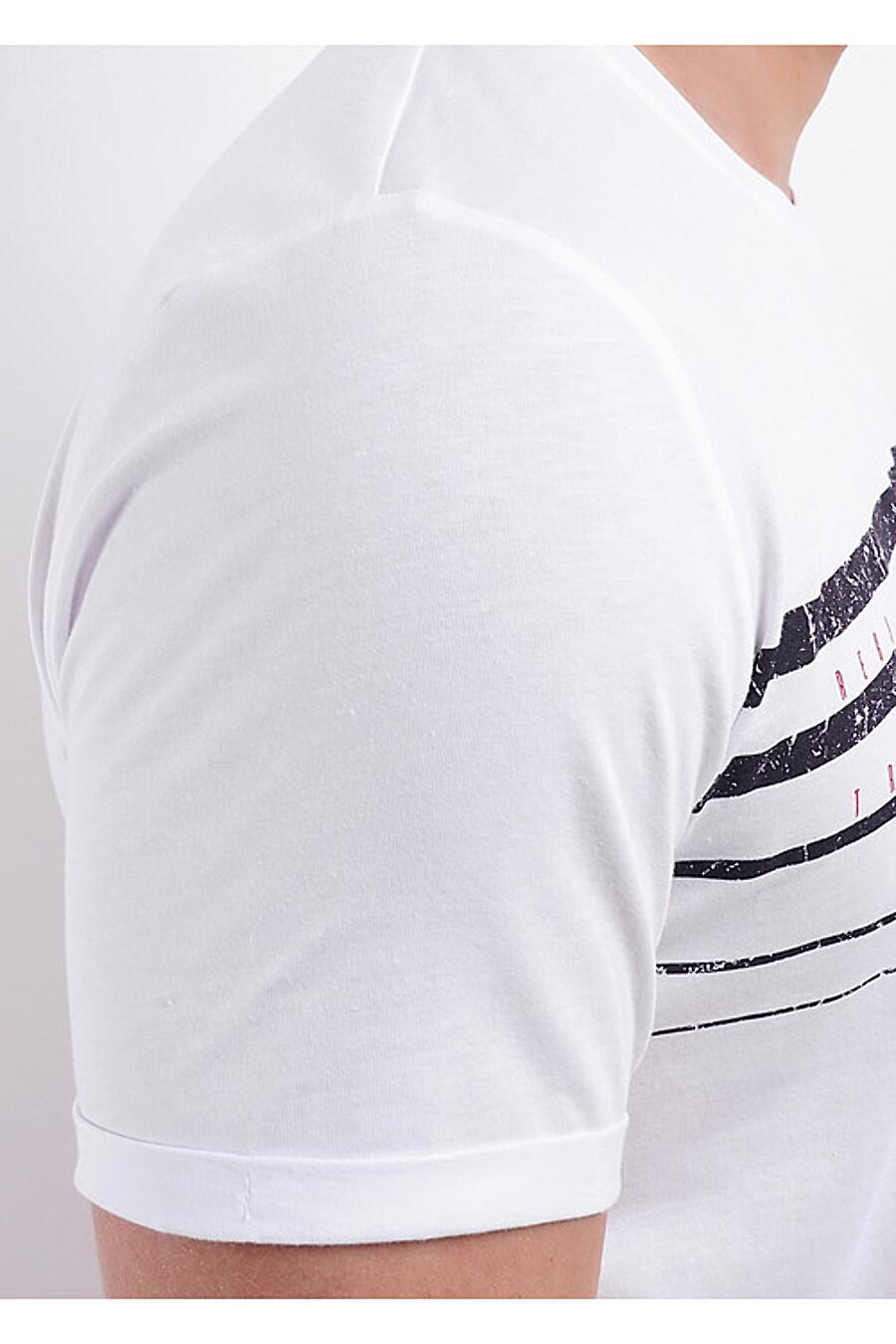 Футболка для мужчин CLEVER 169377 купить оптом от производителя. Совместная покупка мужской одежды в OptMoyo