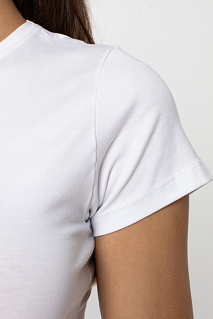 Футболка для женщин PE.CHITTO 169394 купить оптом от производителя. Совместная покупка женской одежды в OptMoyo