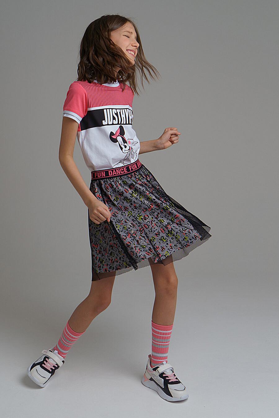 Юбка для девочек PLAYTODAY 172743 купить оптом от производителя. Совместная покупка детской одежды в OptMoyo