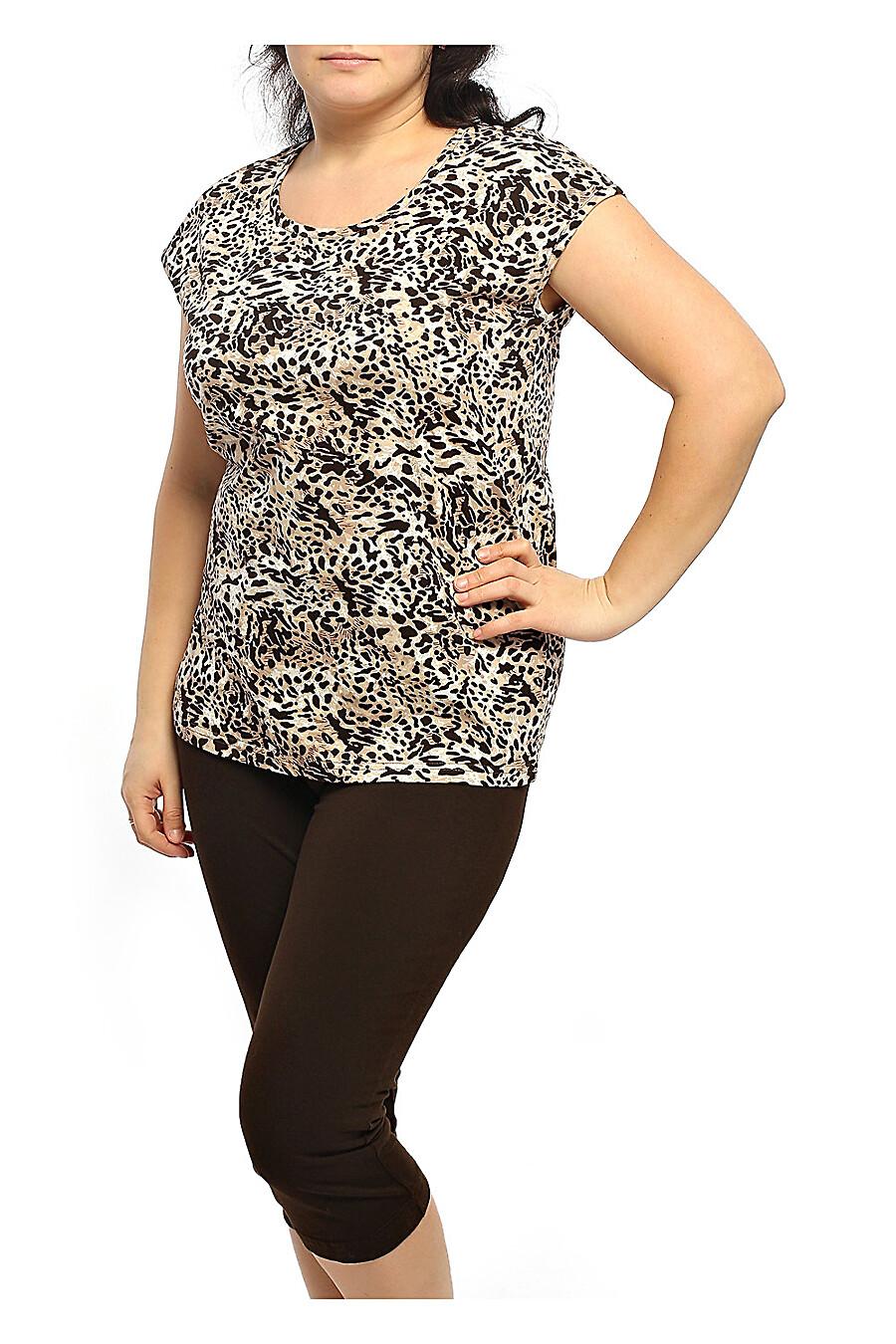 Комплект (футболка+бриджи) для женщин CLEVER 175879 купить оптом от производителя. Совместная покупка женской одежды в OptMoyo