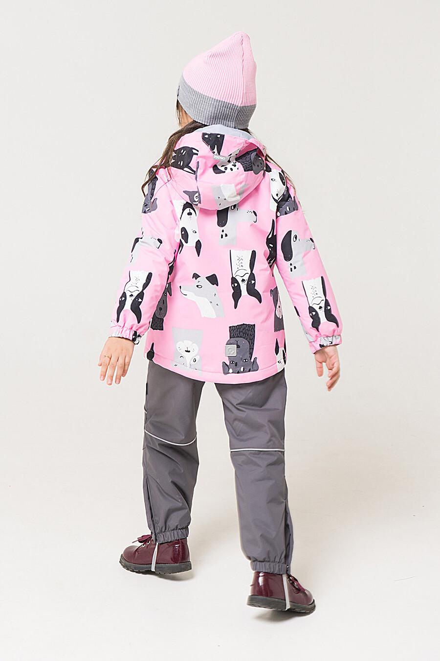 Куртка для девочек CROCKID 176078 купить оптом от производителя. Совместная покупка детской одежды в OptMoyo