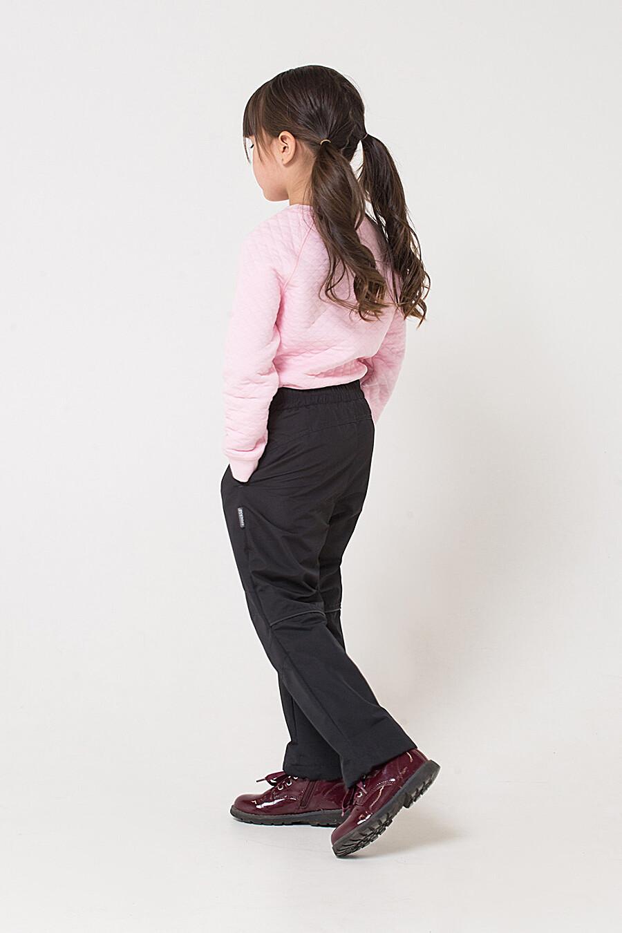 Брюки для девочек CROCKID 176085 купить оптом от производителя. Совместная покупка детской одежды в OptMoyo