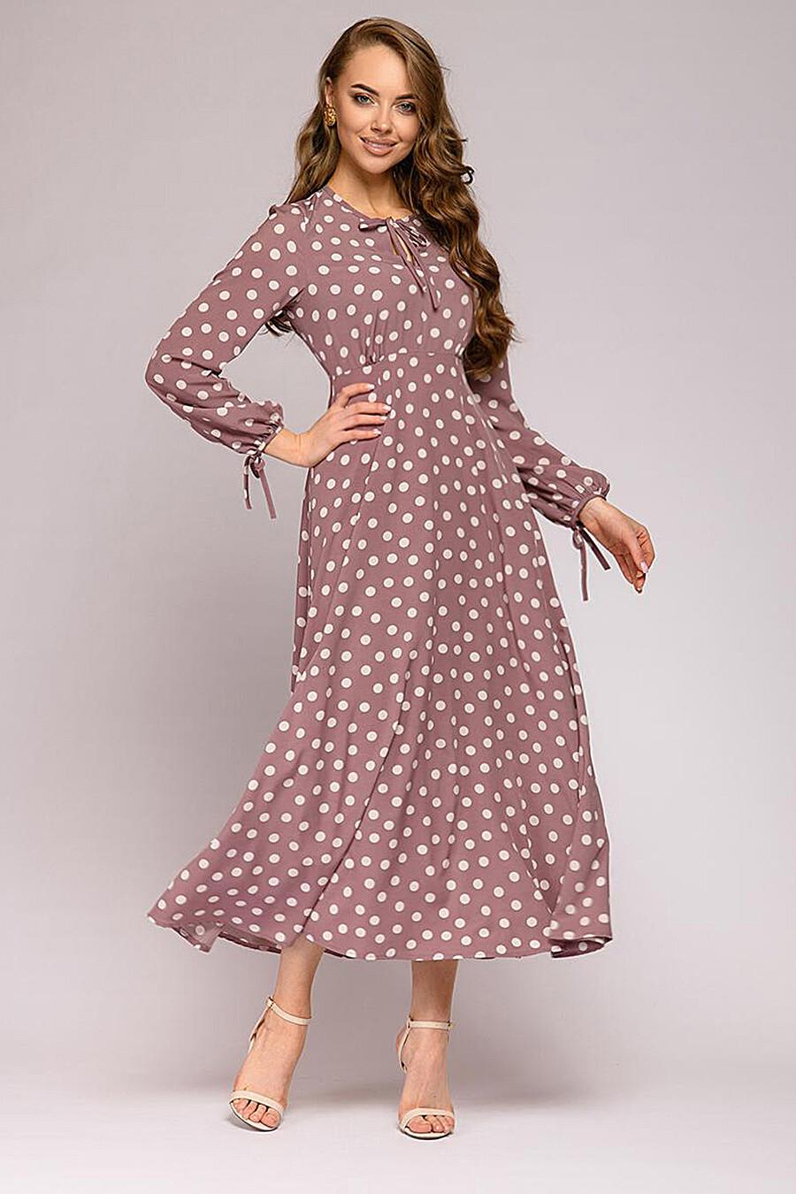 Платье для женщин 1001 DRESS 176142 купить оптом от производителя. Совместная покупка женской одежды в OptMoyo