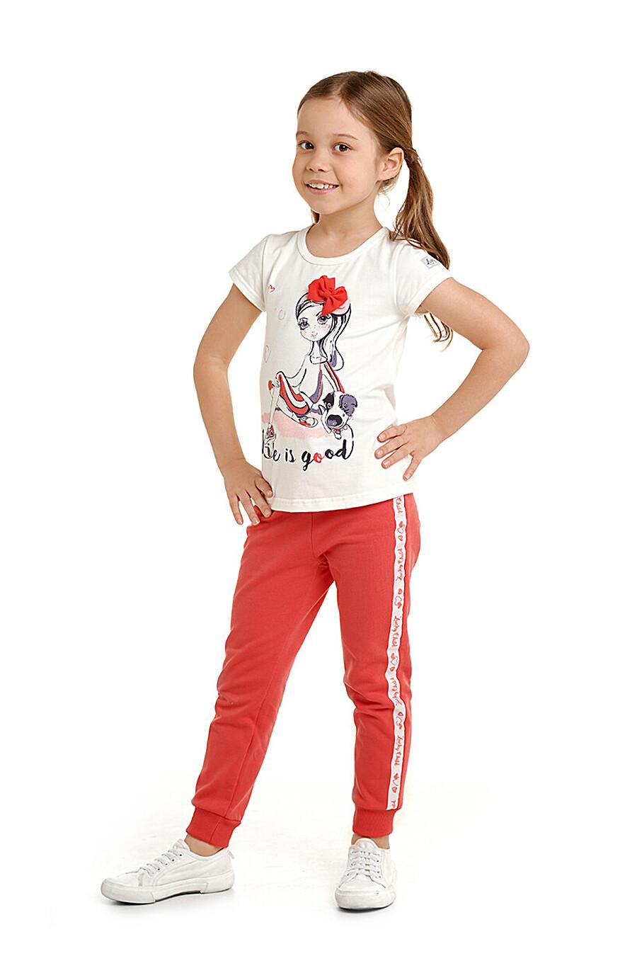 Футболка для девочек LUCKY CHILD 177328 купить оптом от производителя. Совместная покупка детской одежды в OptMoyo