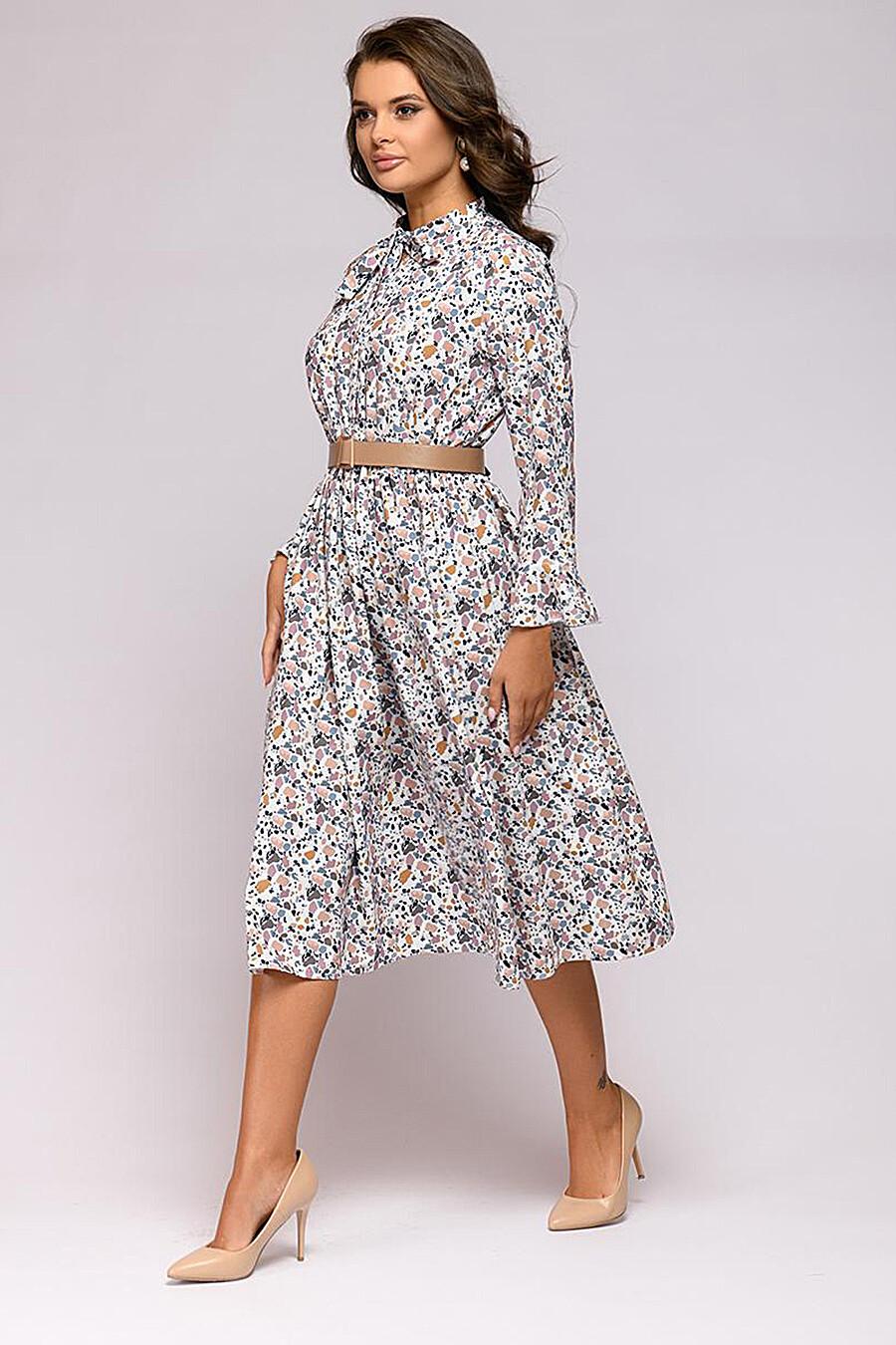 Платье для женщин 1001 DRESS 181016 купить оптом от производителя. Совместная покупка женской одежды в OptMoyo