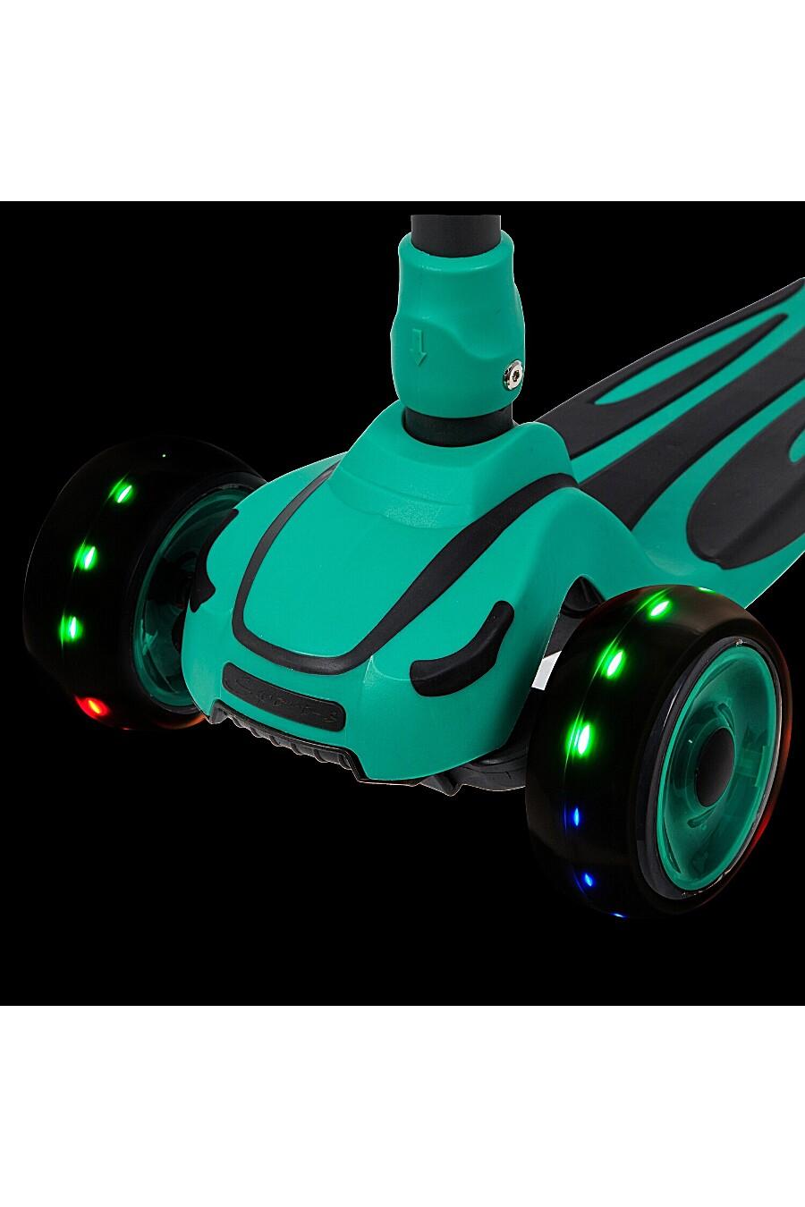 Самокат-кикборд для детей NOVATRACK 181104 купить оптом от производителя. Совместная покупка игрушек в OptMoyo