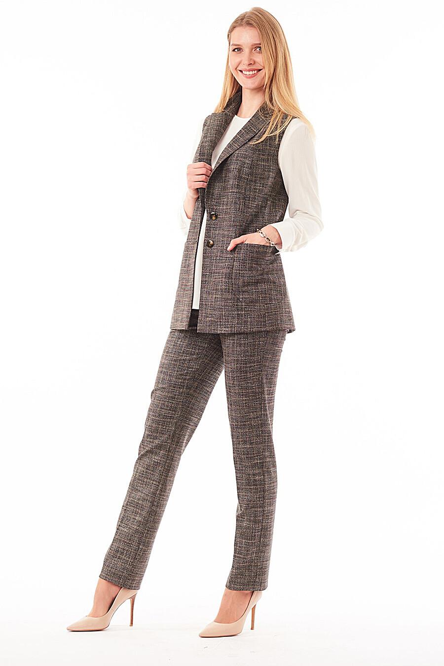 Жилет для женщин VEMINA 181135 купить оптом от производителя. Совместная покупка женской одежды в OptMoyo