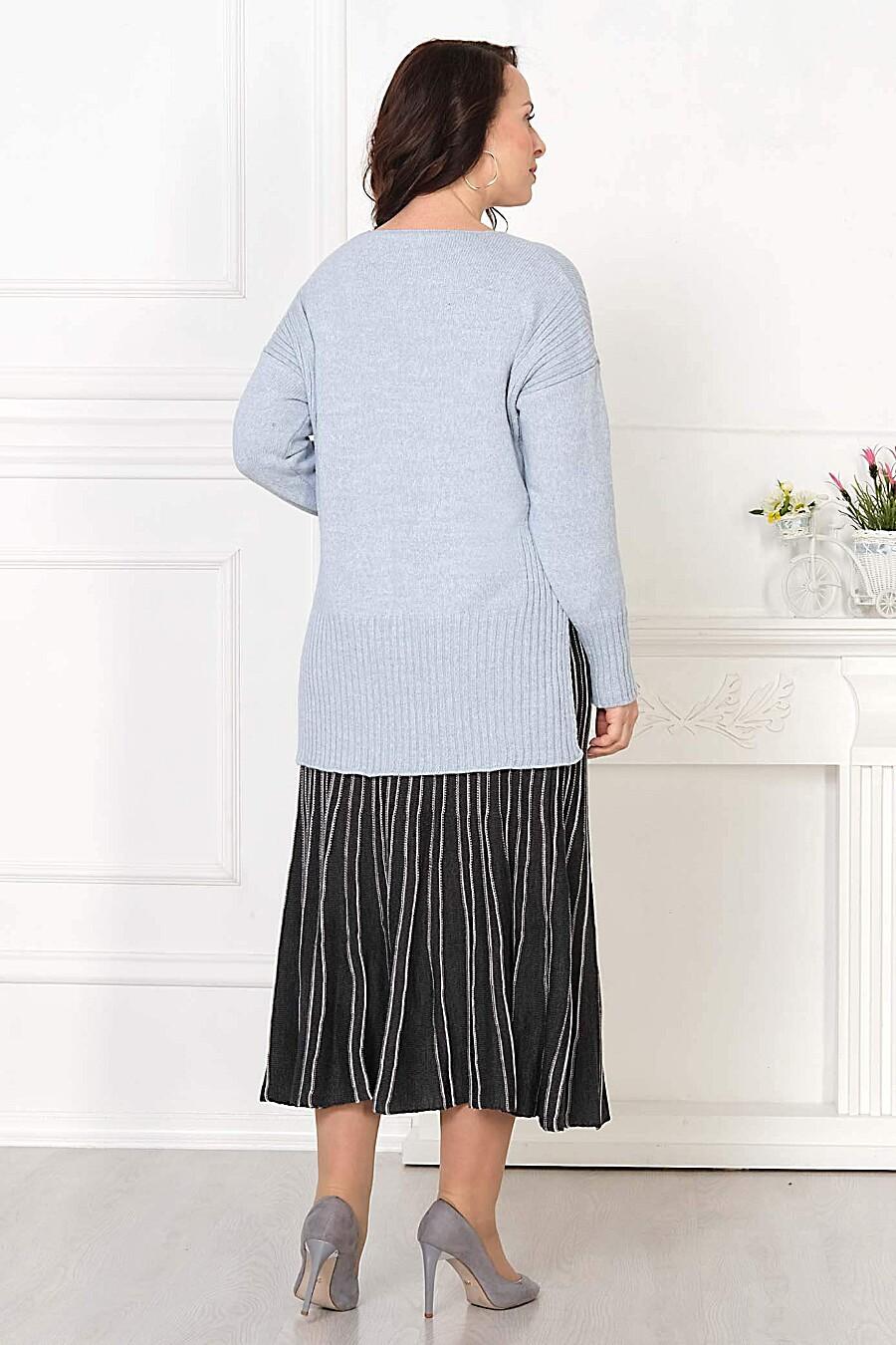 Джемпер для женщин ANKOLI 184513 купить оптом от производителя. Совместная покупка женской одежды в OptMoyo