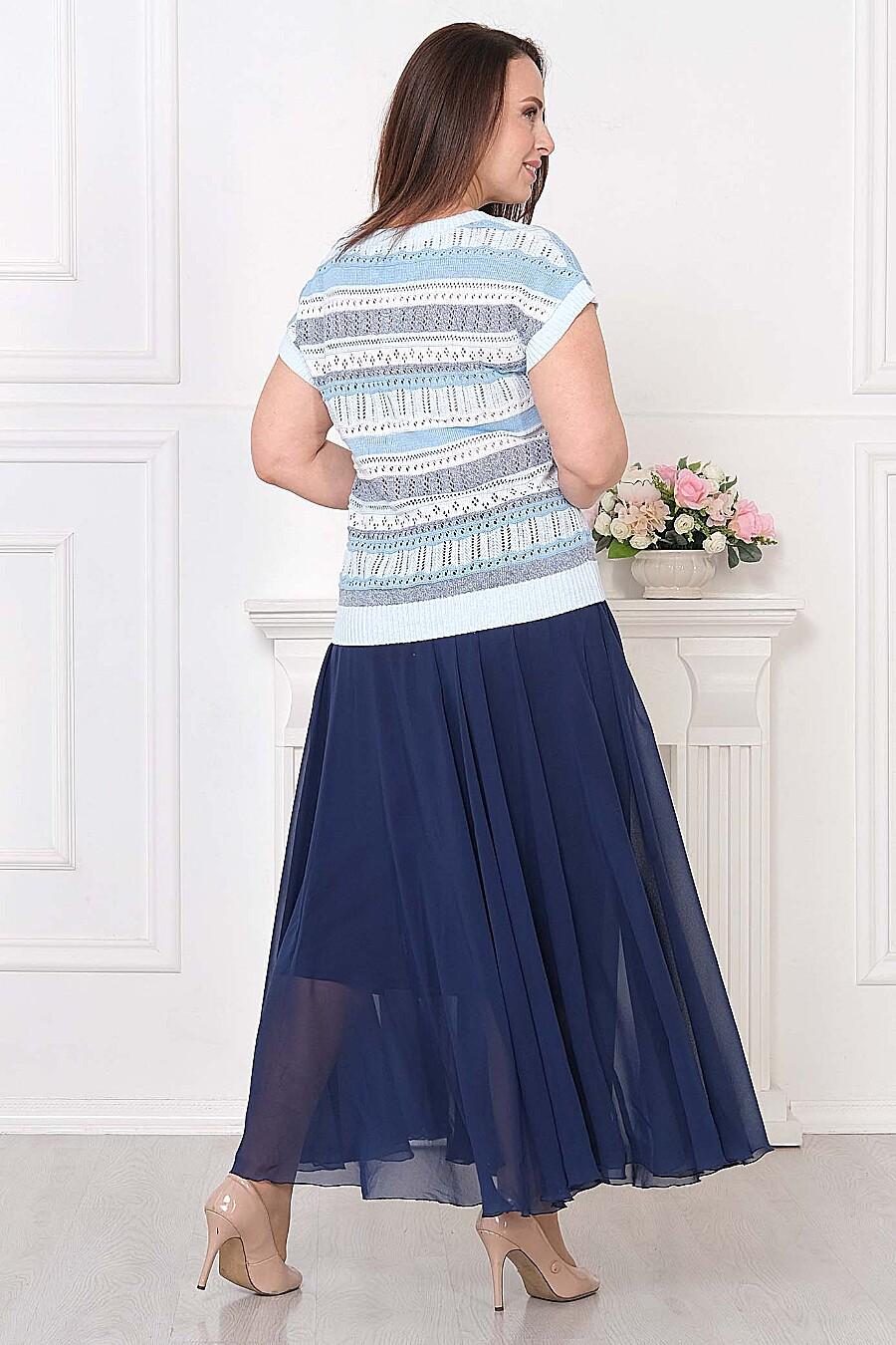 Джемпер для женщин ANKOLI 184535 купить оптом от производителя. Совместная покупка женской одежды в OptMoyo