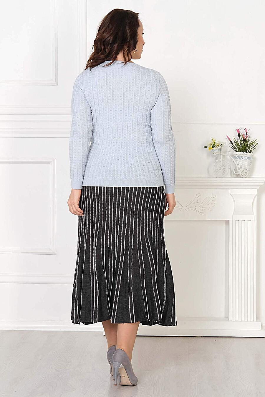 Джемпер для женщин ANKOLI 184584 купить оптом от производителя. Совместная покупка женской одежды в OptMoyo