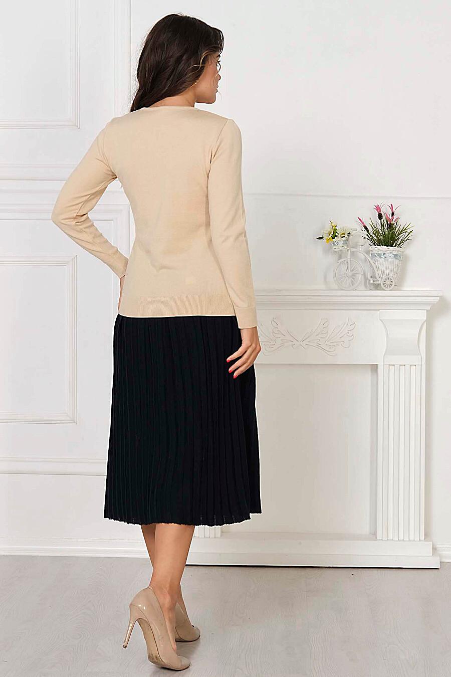Джемпер для женщин ANKOLI 184587 купить оптом от производителя. Совместная покупка женской одежды в OptMoyo