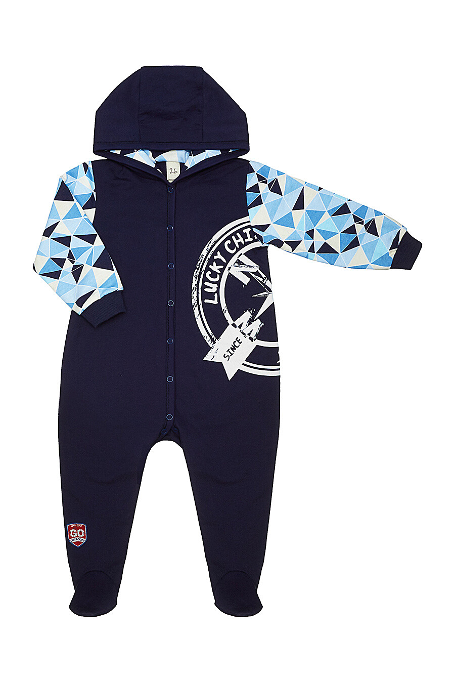 Комбинезон для мальчиков LUCKY CHILD 184737 купить оптом от производителя. Совместная покупка детской одежды в OptMoyo