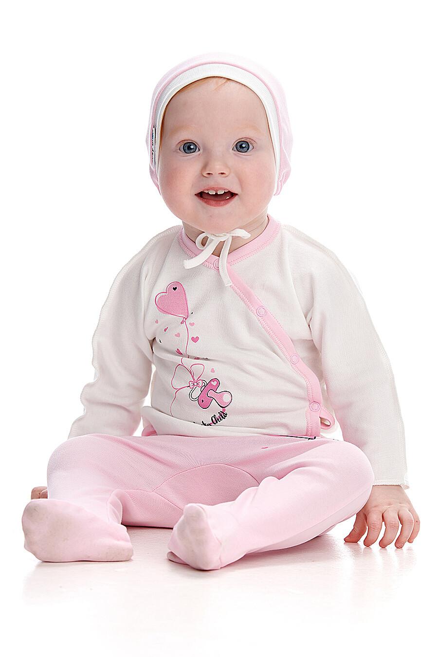 Чепчик для девочек LUCKY CHILD 184783 купить оптом от производителя. Совместная покупка детской одежды в OptMoyo