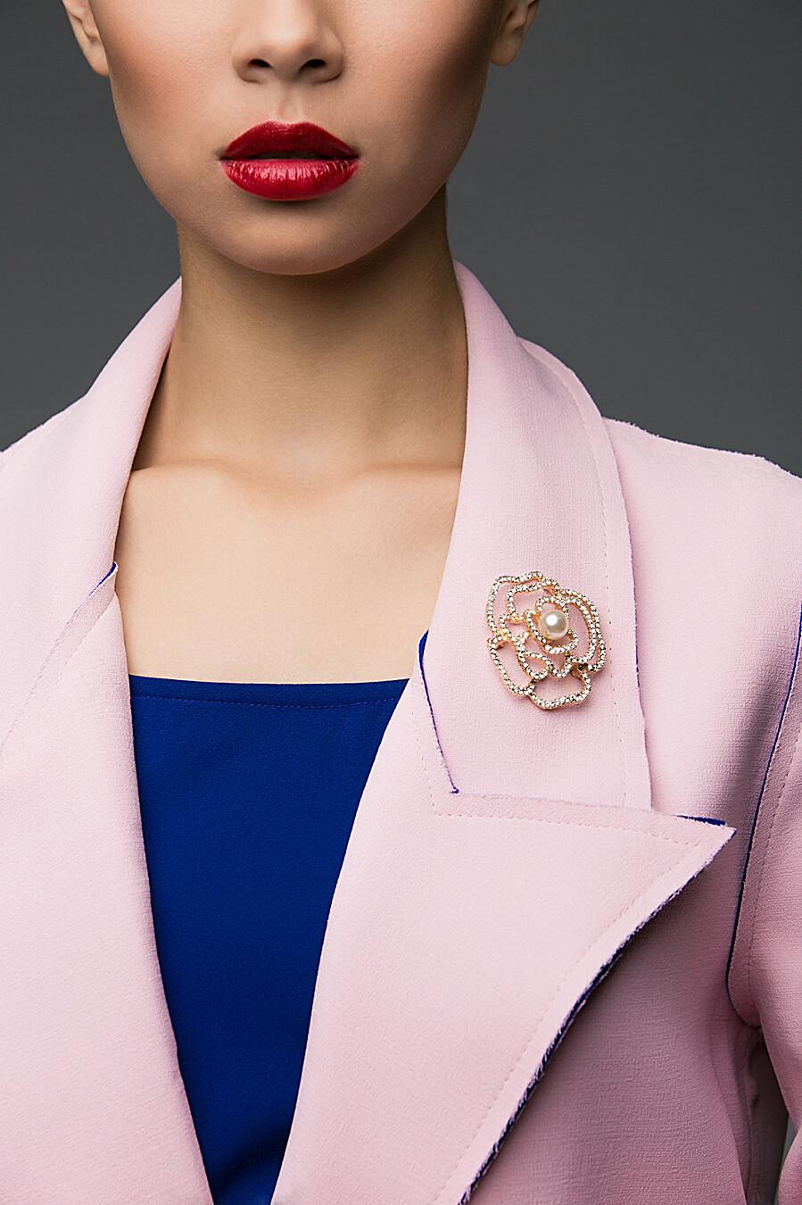 Брошь Совершеный цветок Алсмера Nothing But Love (204911), купить в Moyo.moda