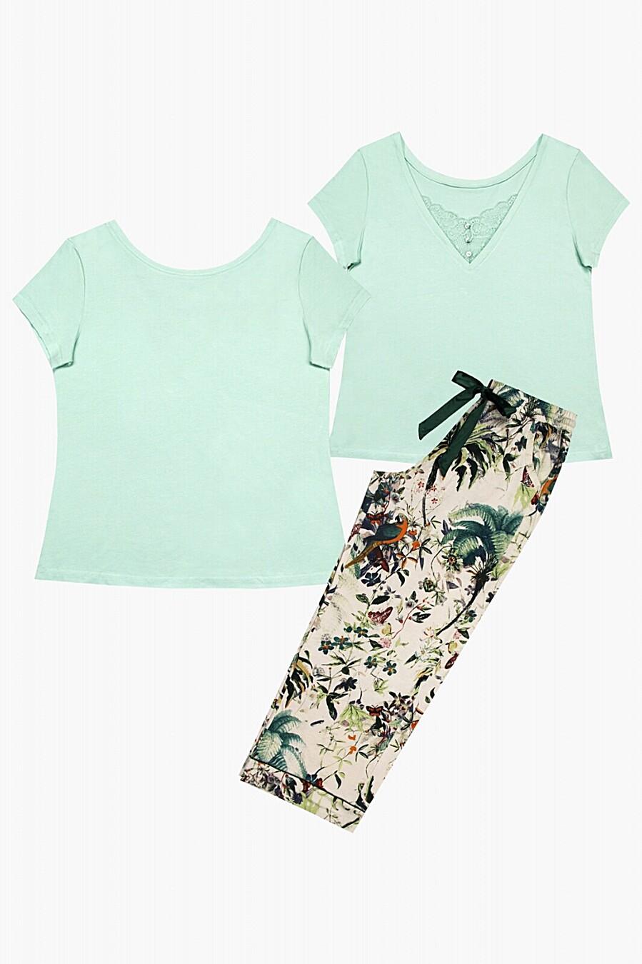 Пижама для женщин INDEFINI 205128 купить оптом от производителя. Совместная покупка женской одежды в OptMoyo