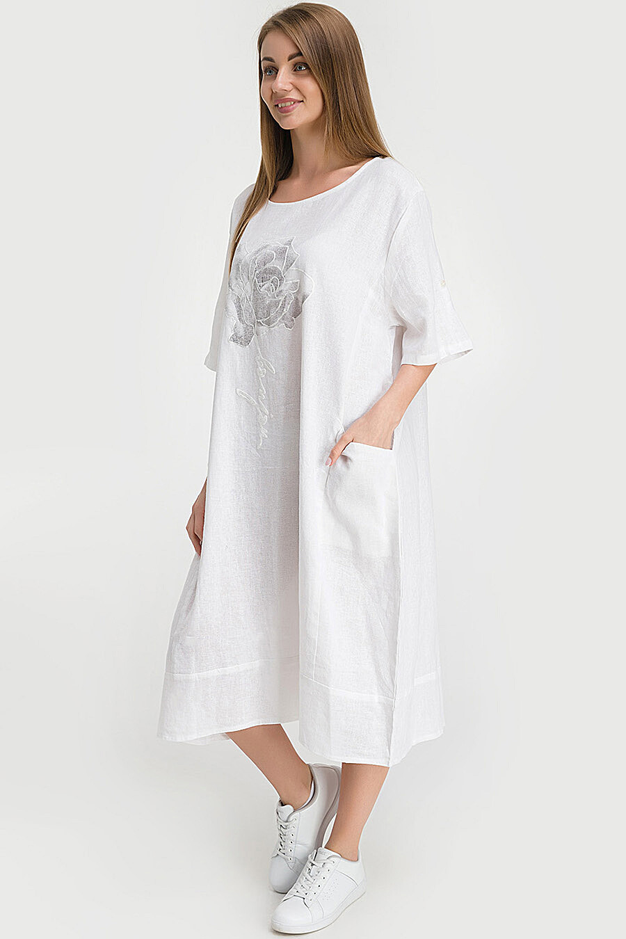 Платье для женщин MODALIME 218362 купить оптом от производителя. Совместная покупка женской одежды в OptMoyo