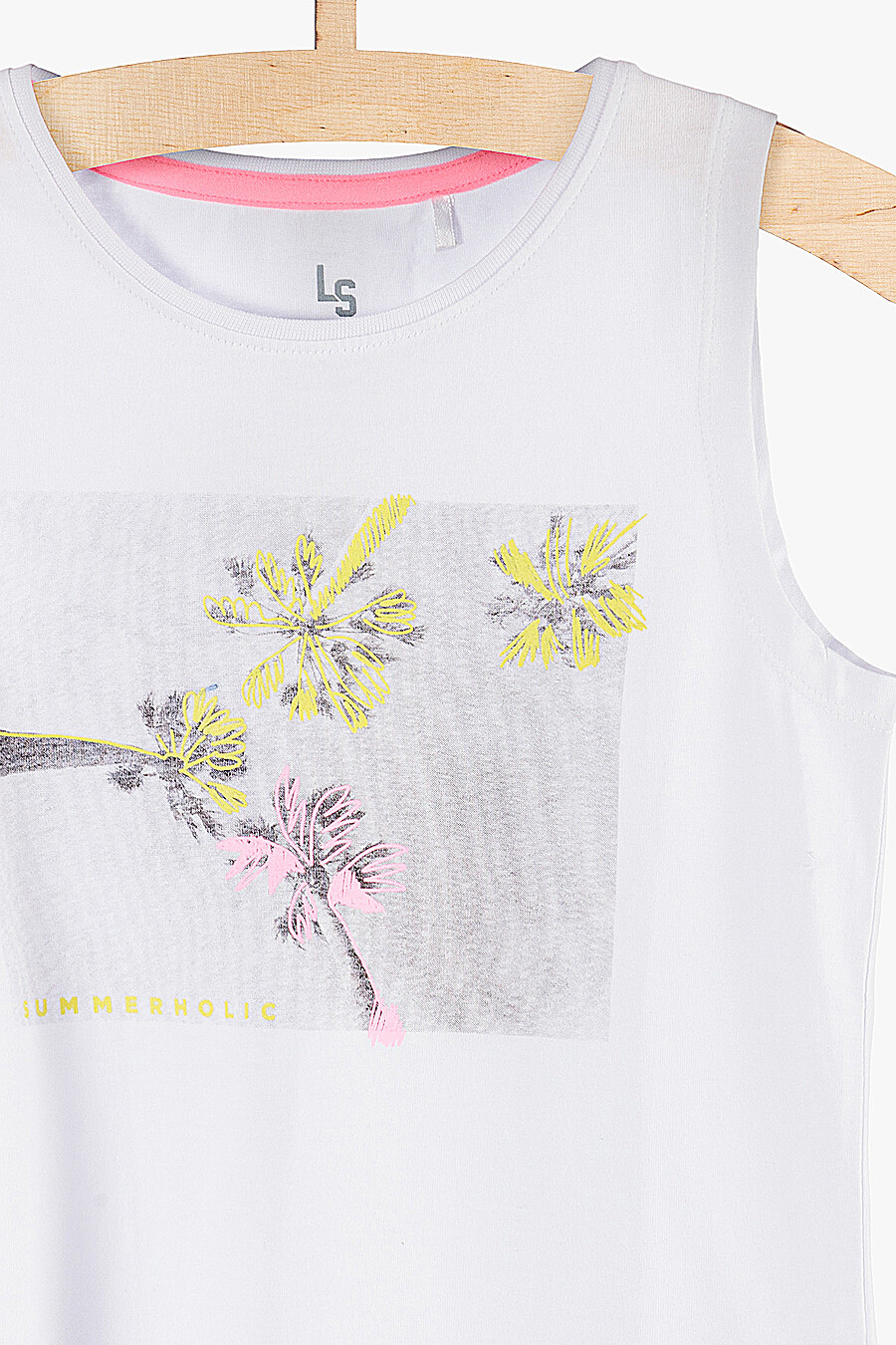 Майка для девочек 5.10.15 218395 купить оптом от производителя. Совместная покупка детской одежды в OptMoyo