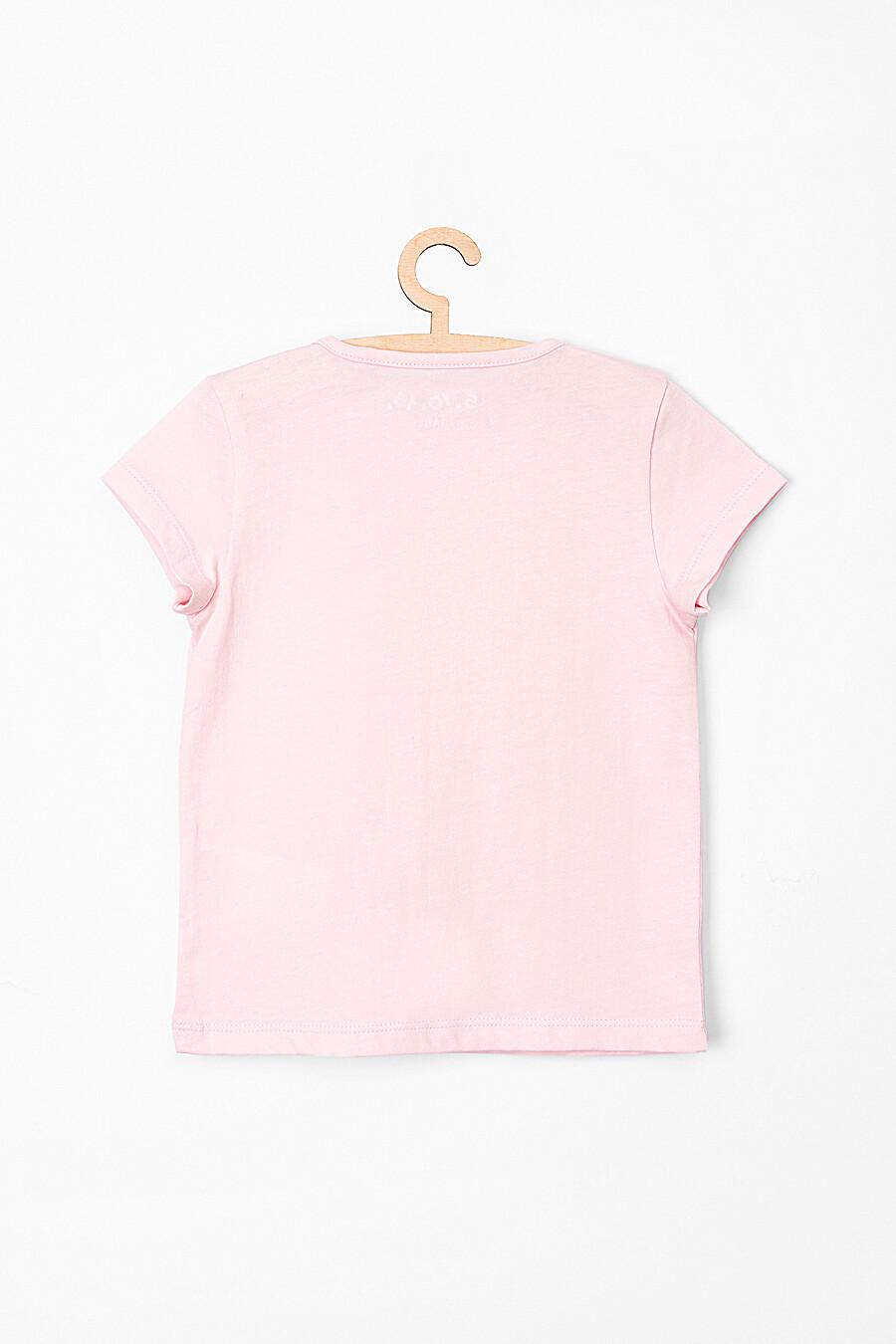 Футболка для девочек 5.10.15 218416 купить оптом от производителя. Совместная покупка детской одежды в OptMoyo