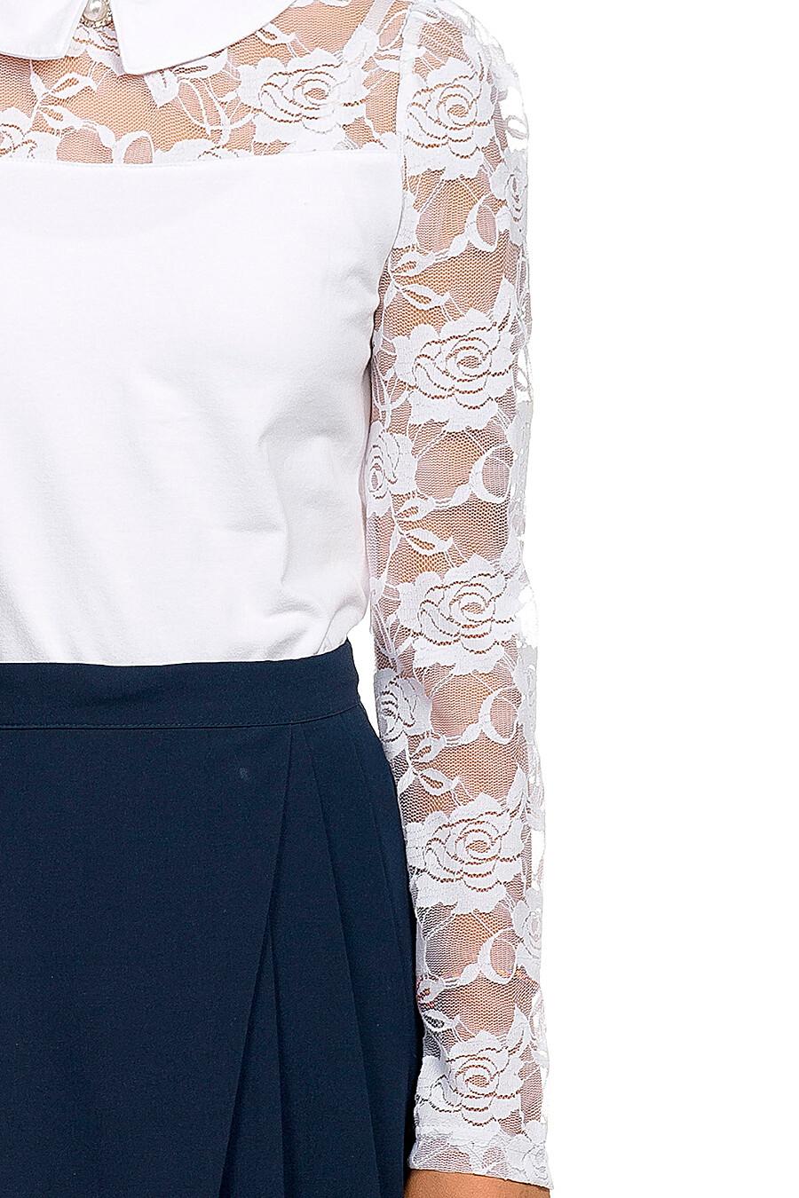 Блузка для девочек PELICAN 218512 купить оптом от производителя. Совместная покупка детской одежды в OptMoyo