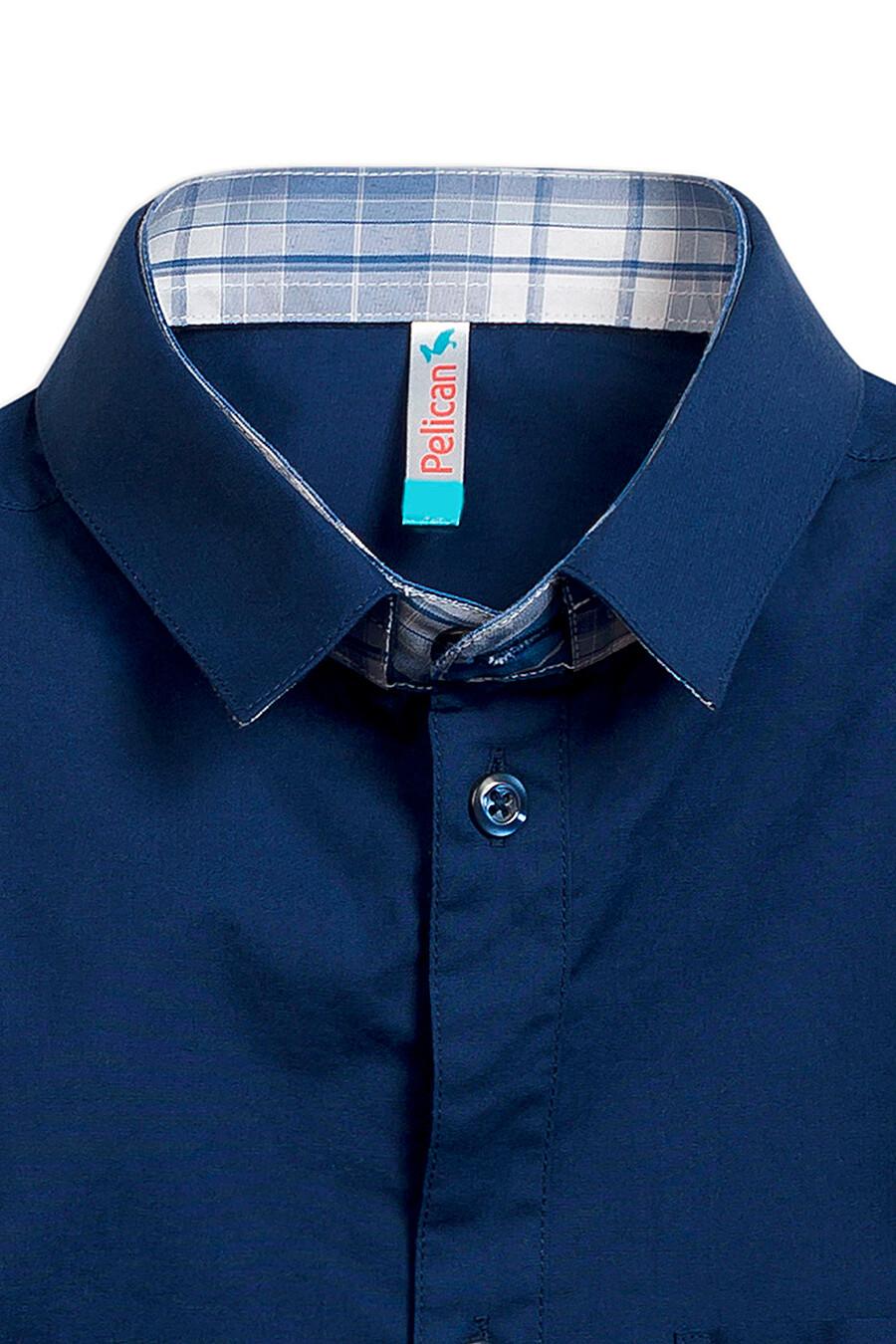Сорочка для мальчиков PELICAN 218515 купить оптом от производителя. Совместная покупка детской одежды в OptMoyo