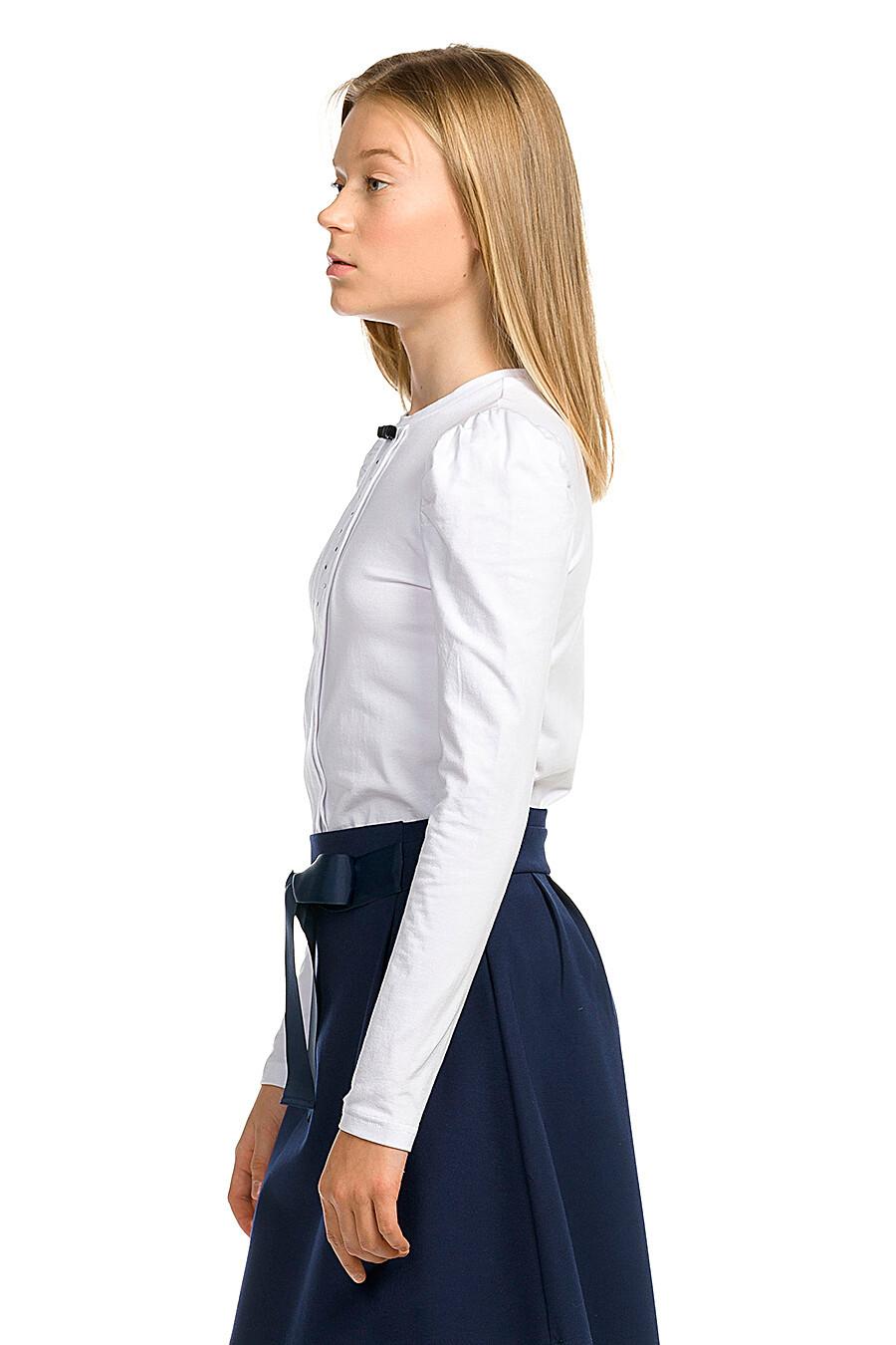 Блузка для девочек PELICAN 218528 купить оптом от производителя. Совместная покупка детской одежды в OptMoyo