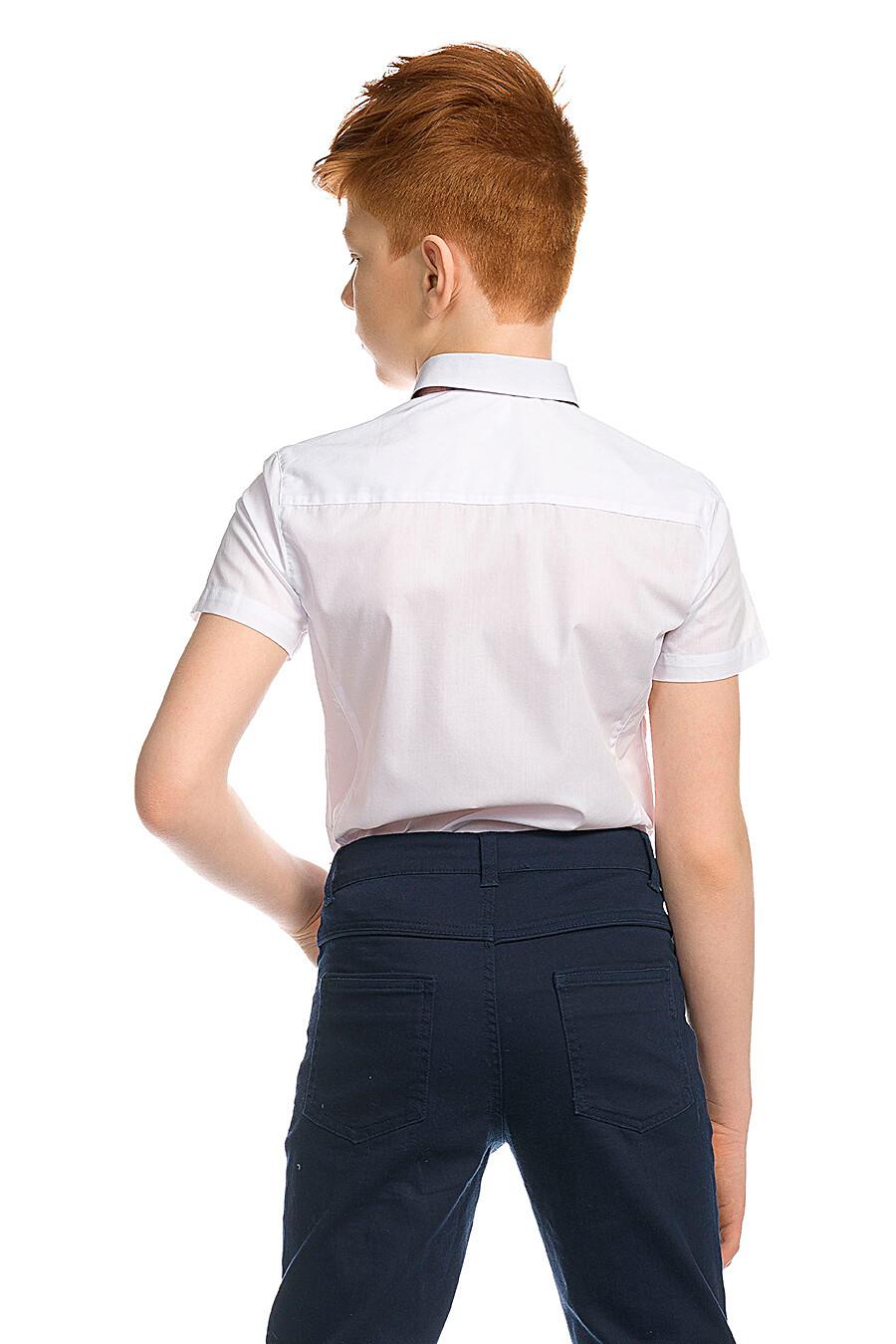 Сорочка для мальчиков PELICAN 218542 купить оптом от производителя. Совместная покупка детской одежды в OptMoyo