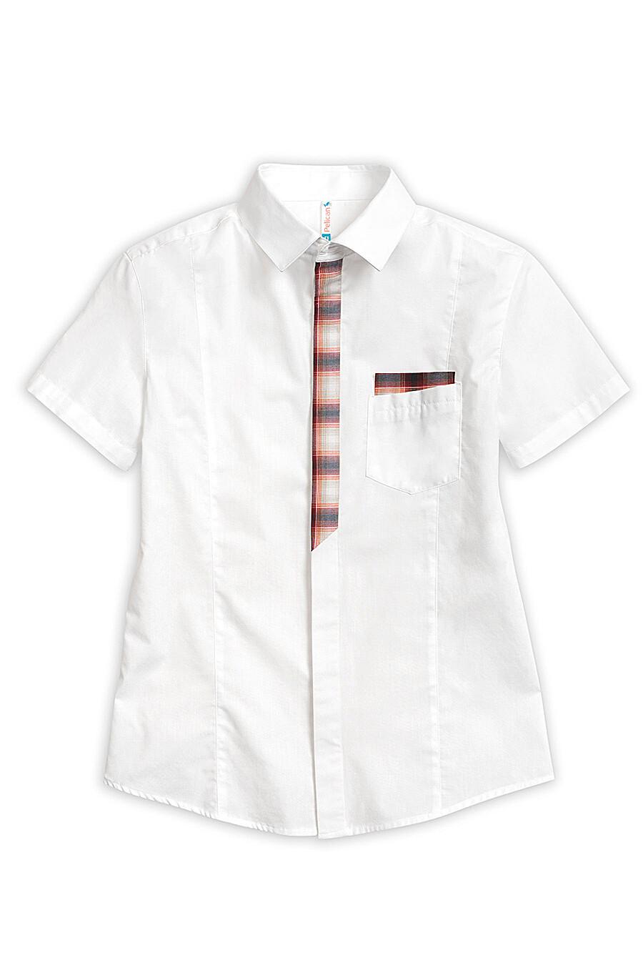 Сорочка для мальчиков PELICAN 218551 купить оптом от производителя. Совместная покупка детской одежды в OptMoyo