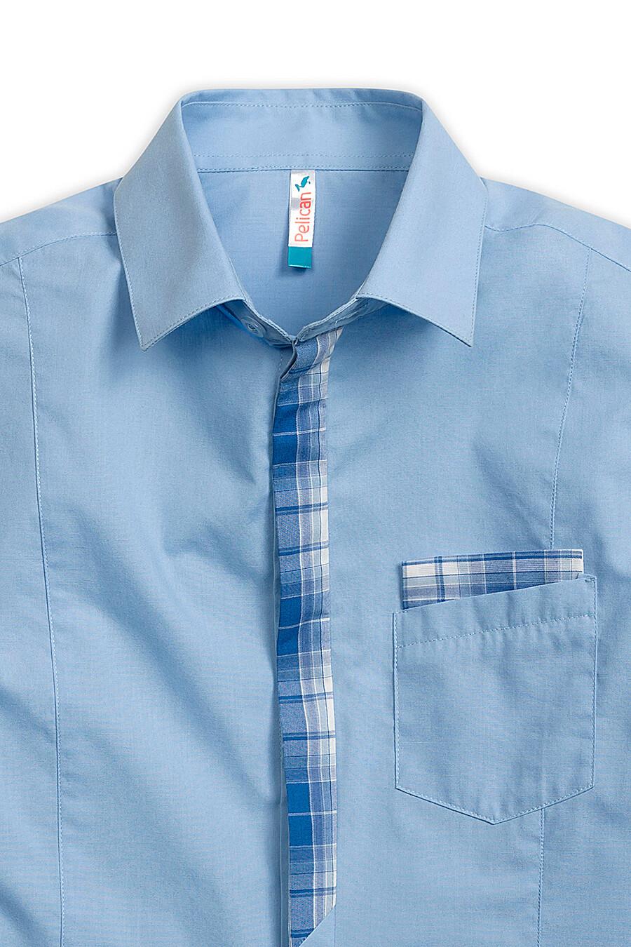 Сорочка для мальчиков PELICAN 218554 купить оптом от производителя. Совместная покупка детской одежды в OptMoyo