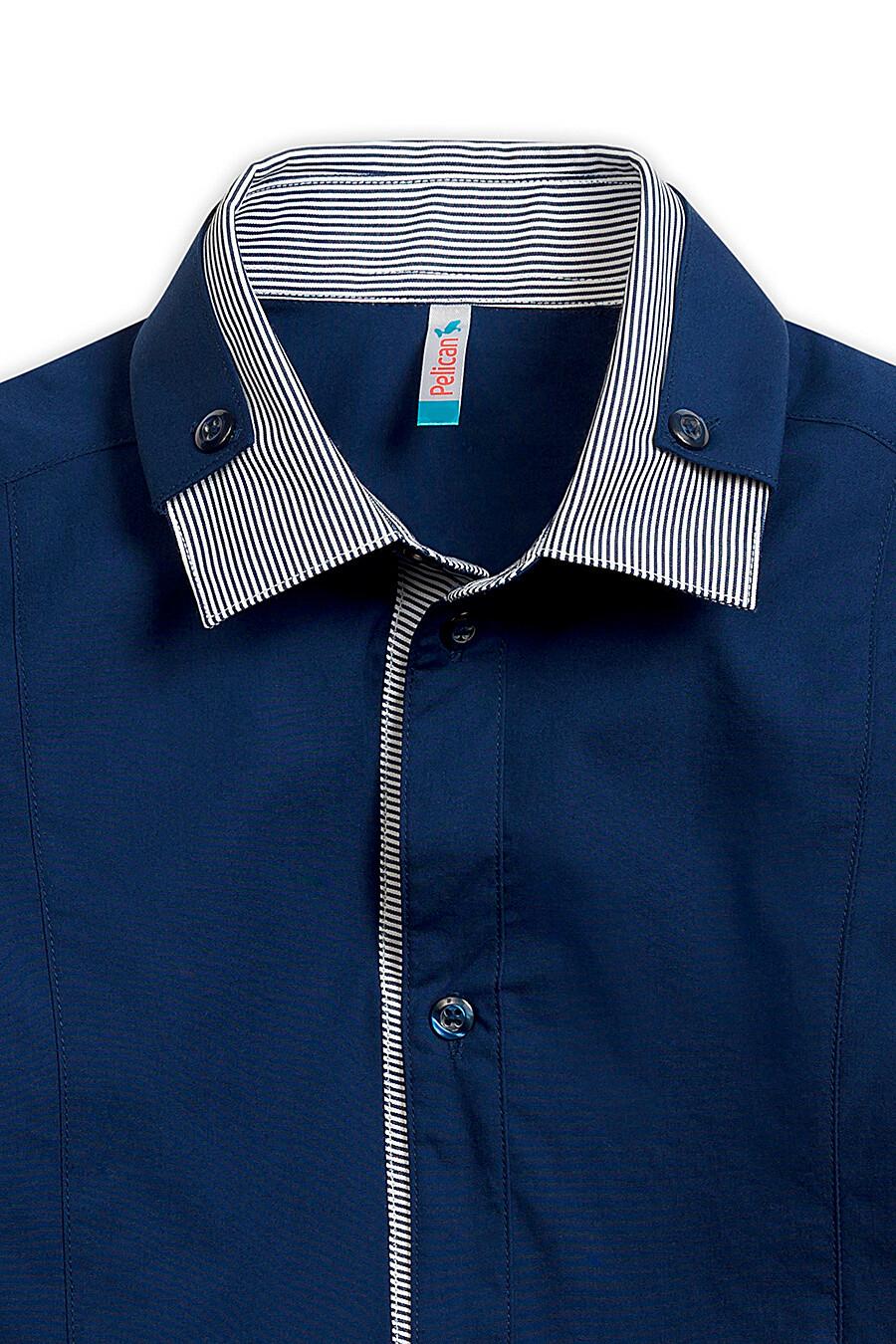 Сорочка для мальчиков PELICAN 218574 купить оптом от производителя. Совместная покупка детской одежды в OptMoyo