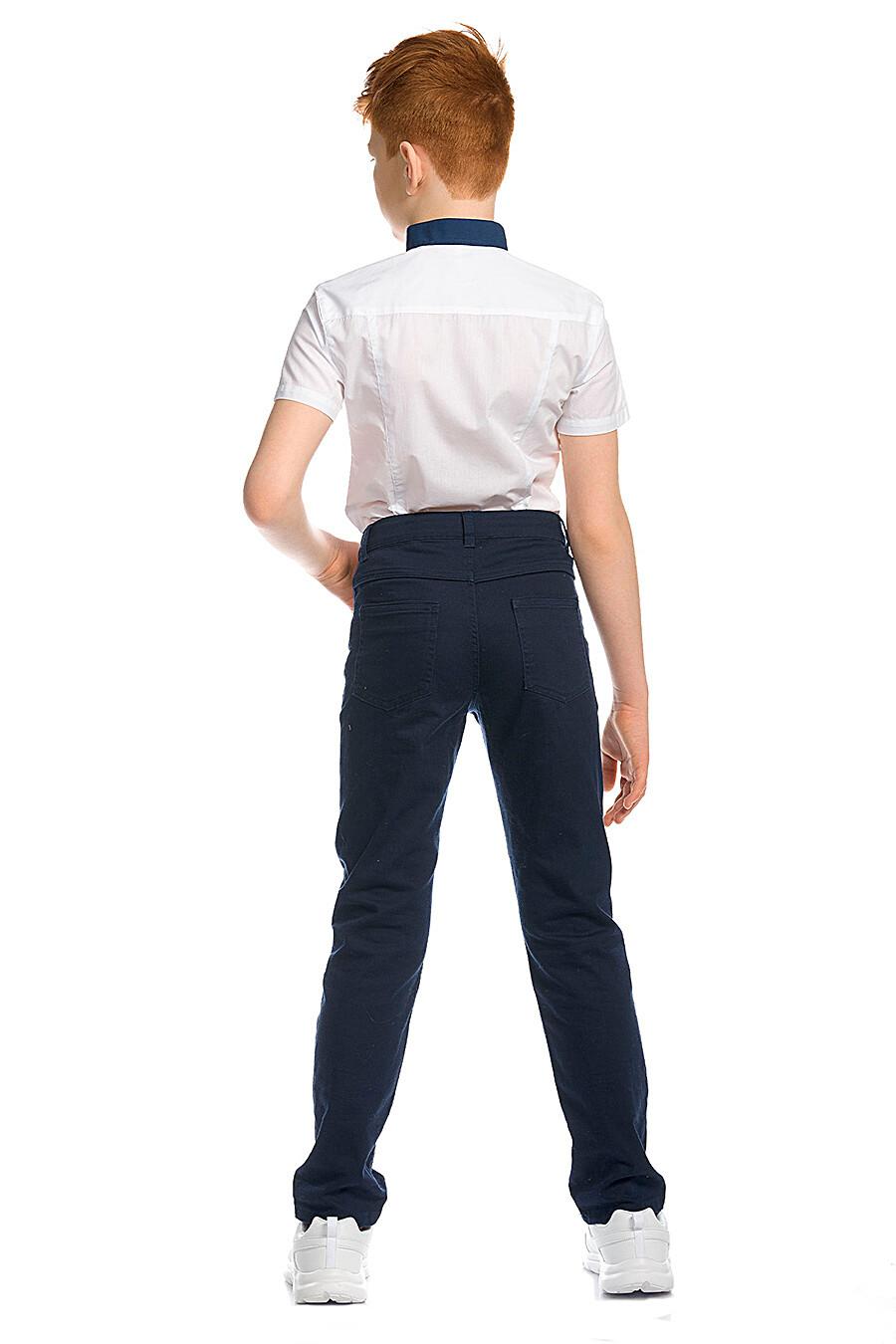 Брюки для мальчиков PELICAN 218595 купить оптом от производителя. Совместная покупка детской одежды в OptMoyo