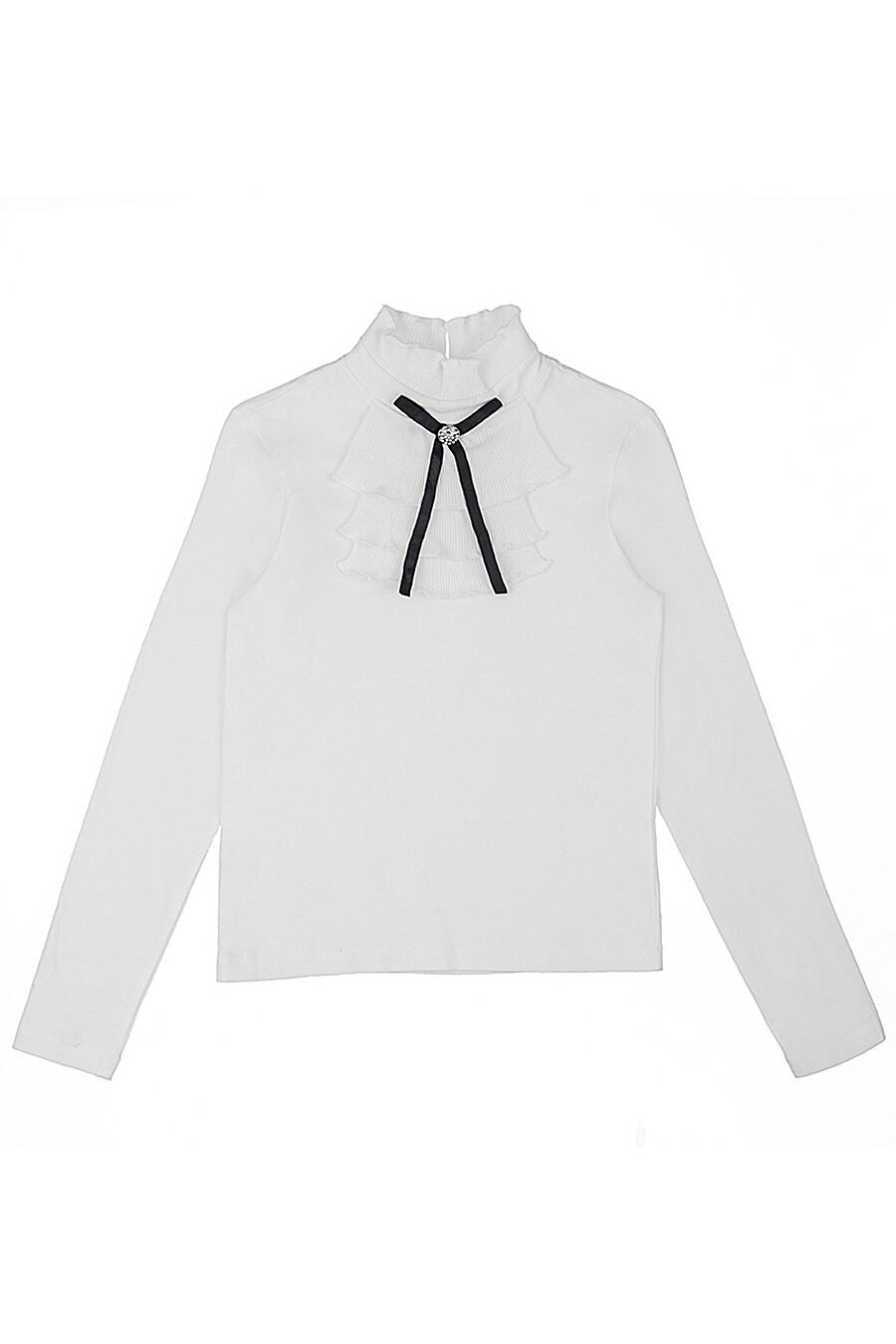 Блуза для девочек IN FUNT 219037 купить оптом от производителя. Совместная покупка детской одежды в OptMoyo