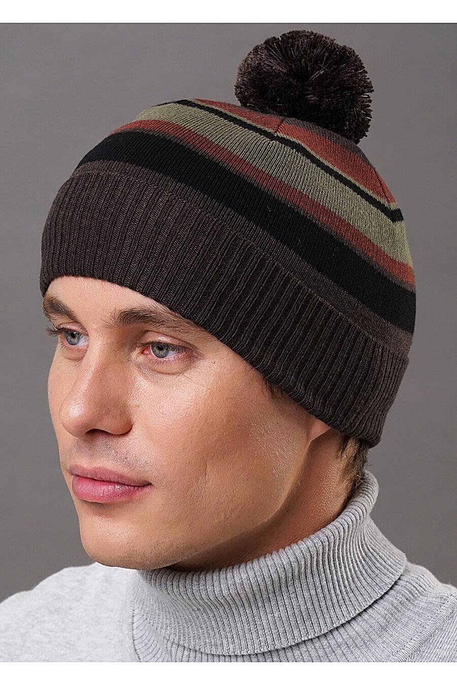 Шапка для мужчин CLEVER 219417 купить оптом от производителя. Совместная покупка мужской одежды в OptMoyo