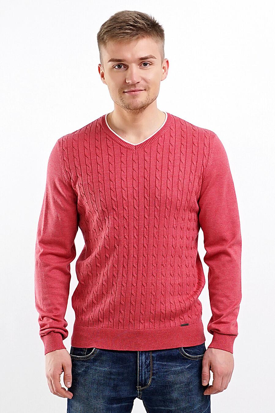 Джемпер для мужчин CLEVER 219463 купить оптом от производителя. Совместная покупка мужской одежды в OptMoyo