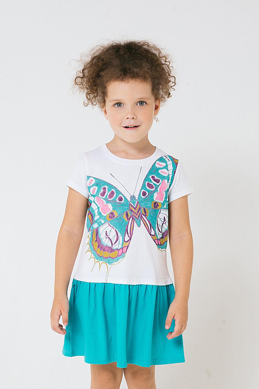 Платье для девочек CROCKID 219836 купить оптом от производителя. Совместная покупка детской одежды в OptMoyo
