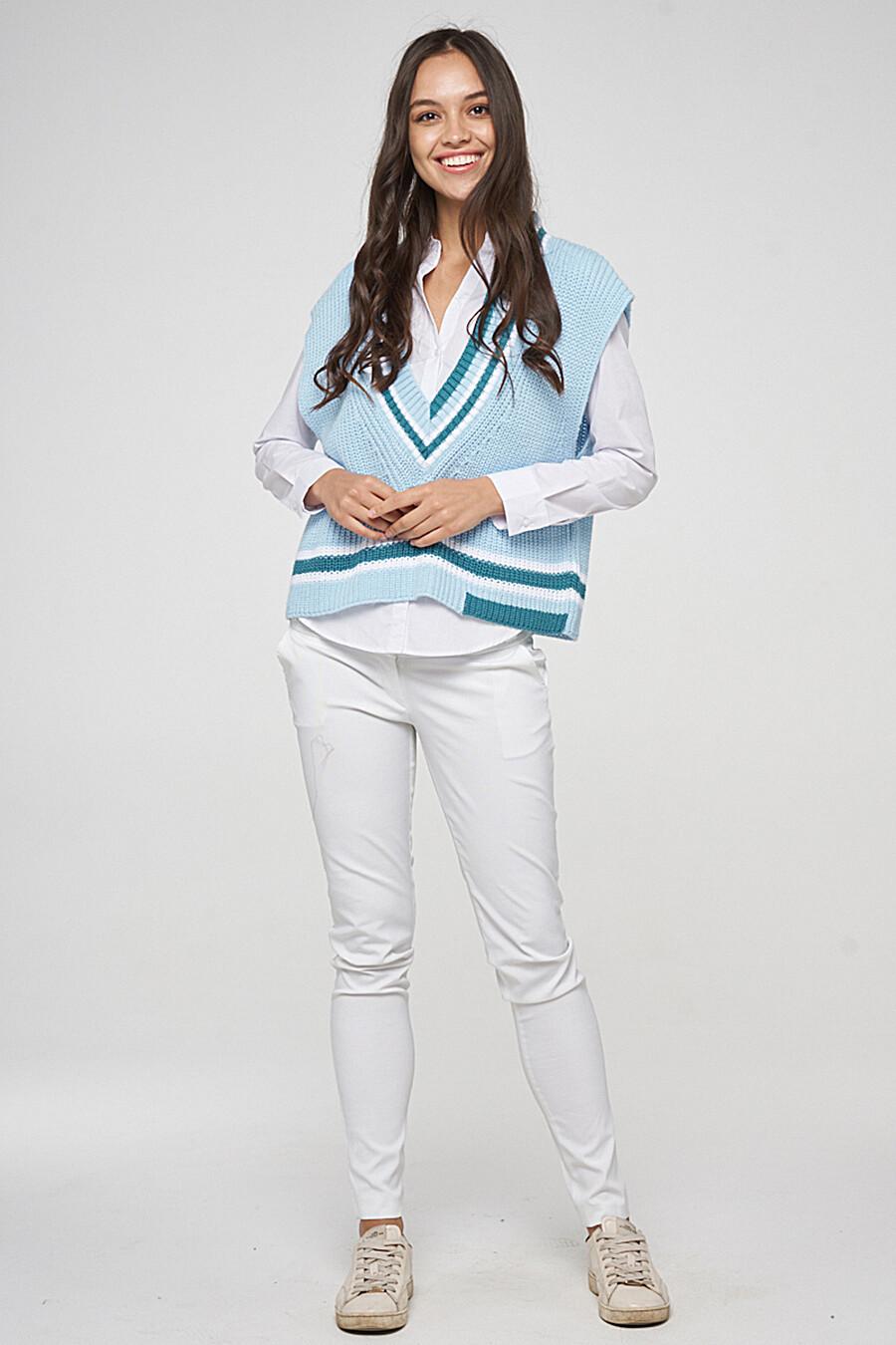 Жилет для женщин VAY 226981 купить оптом от производителя. Совместная покупка женской одежды в OptMoyo