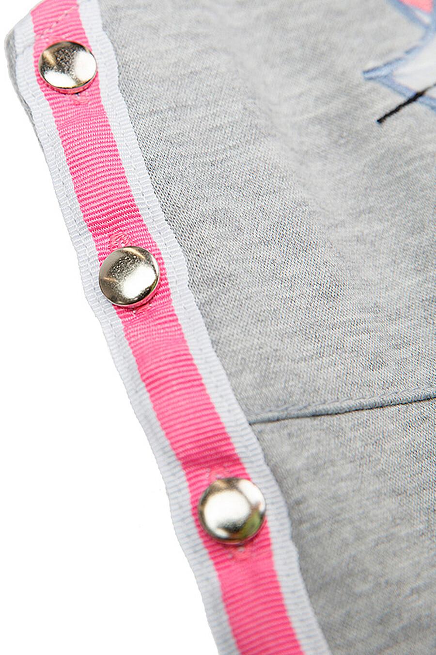 Полуомбинезон для девочек PLAYTODAY 239258 купить оптом от производителя. Совместная покупка детской одежды в OptMoyo