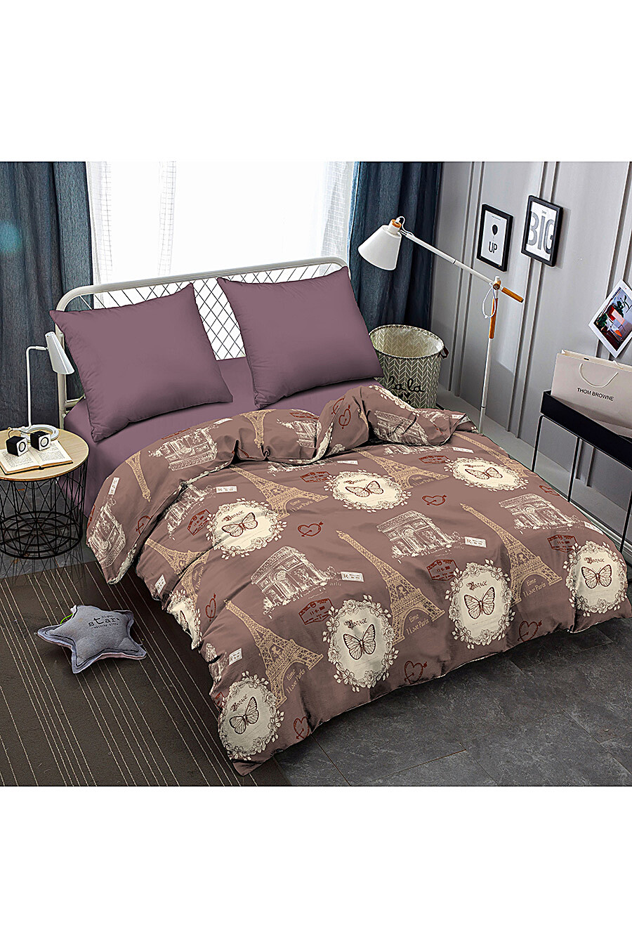 Постельное белье для дома AMORE MIO 246983 купить оптом от производителя. Совместная покупка товаров для дома в OptMoyo