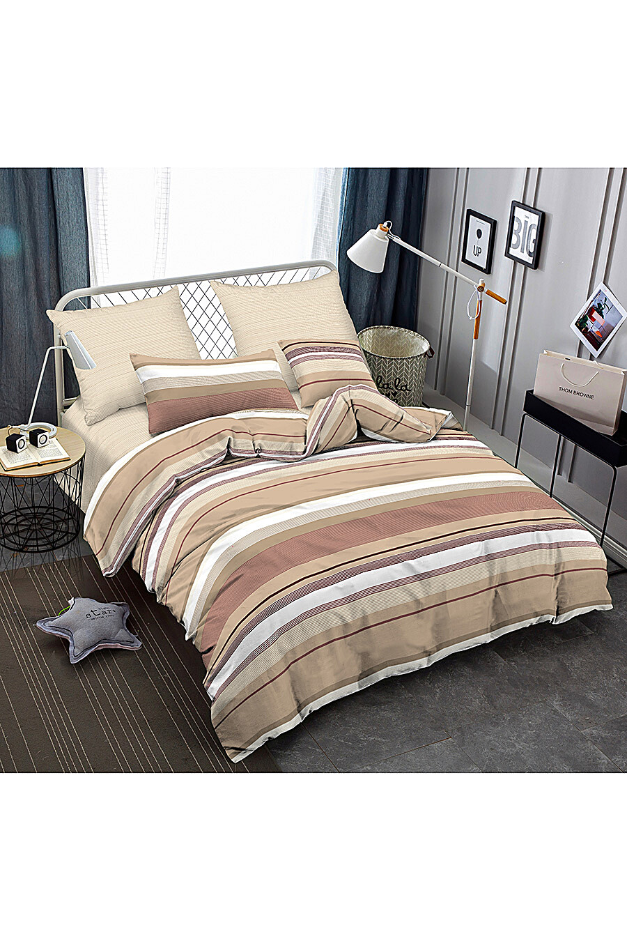 Постельное белье для дома AMORE MIO 247040 купить оптом от производителя. Совместная покупка товаров для дома в OptMoyo