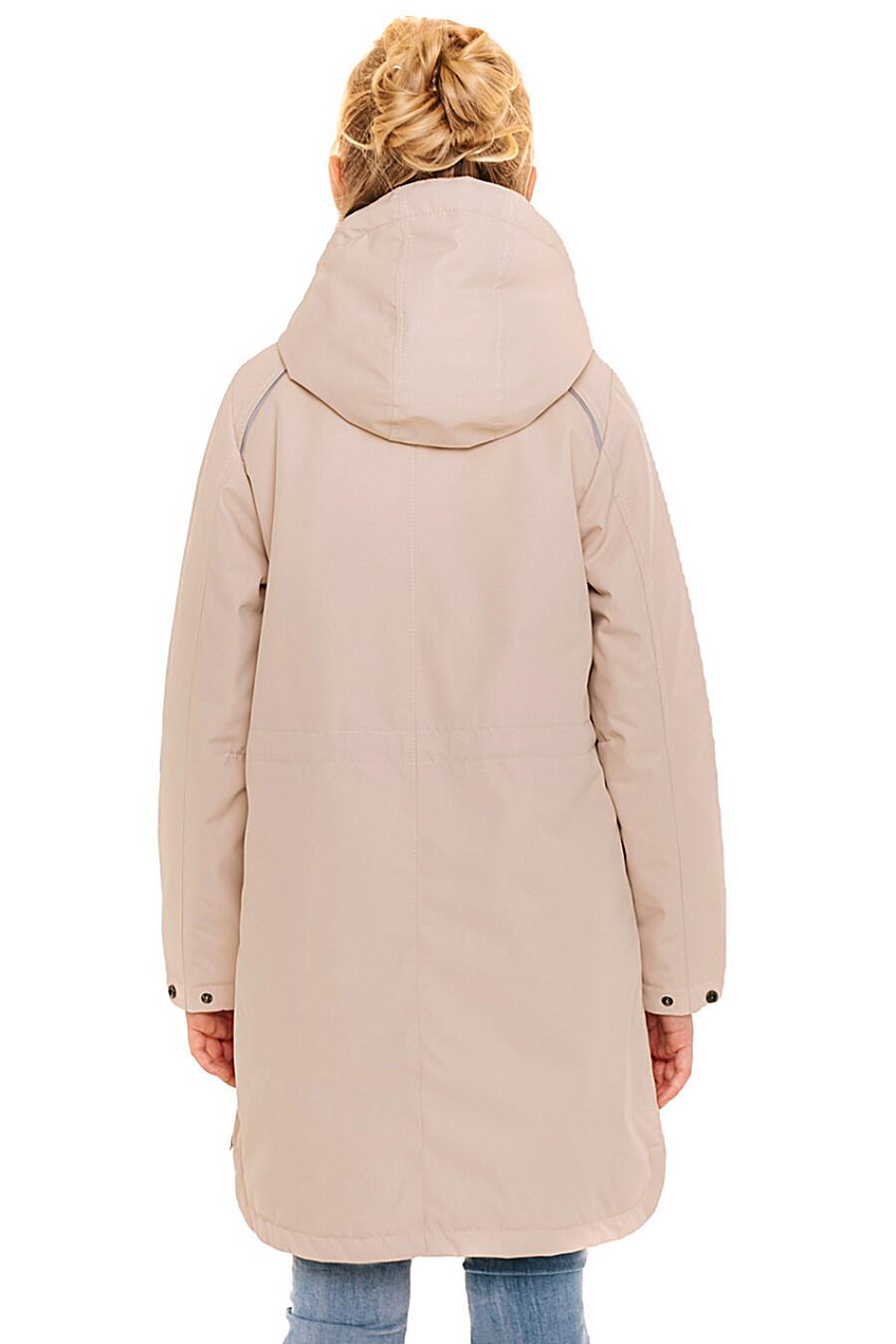 Пальто для девочек BATIK 247242 купить оптом от производителя. Совместная покупка детской одежды в OptMoyo