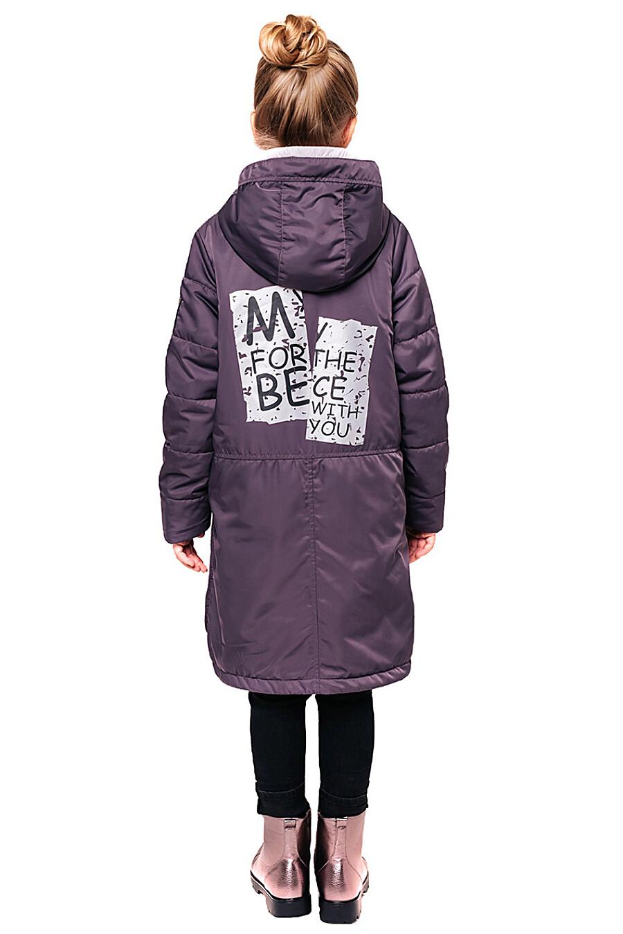 Пальто для девочек BATIK 247281 купить оптом от производителя. Совместная покупка детской одежды в OptMoyo