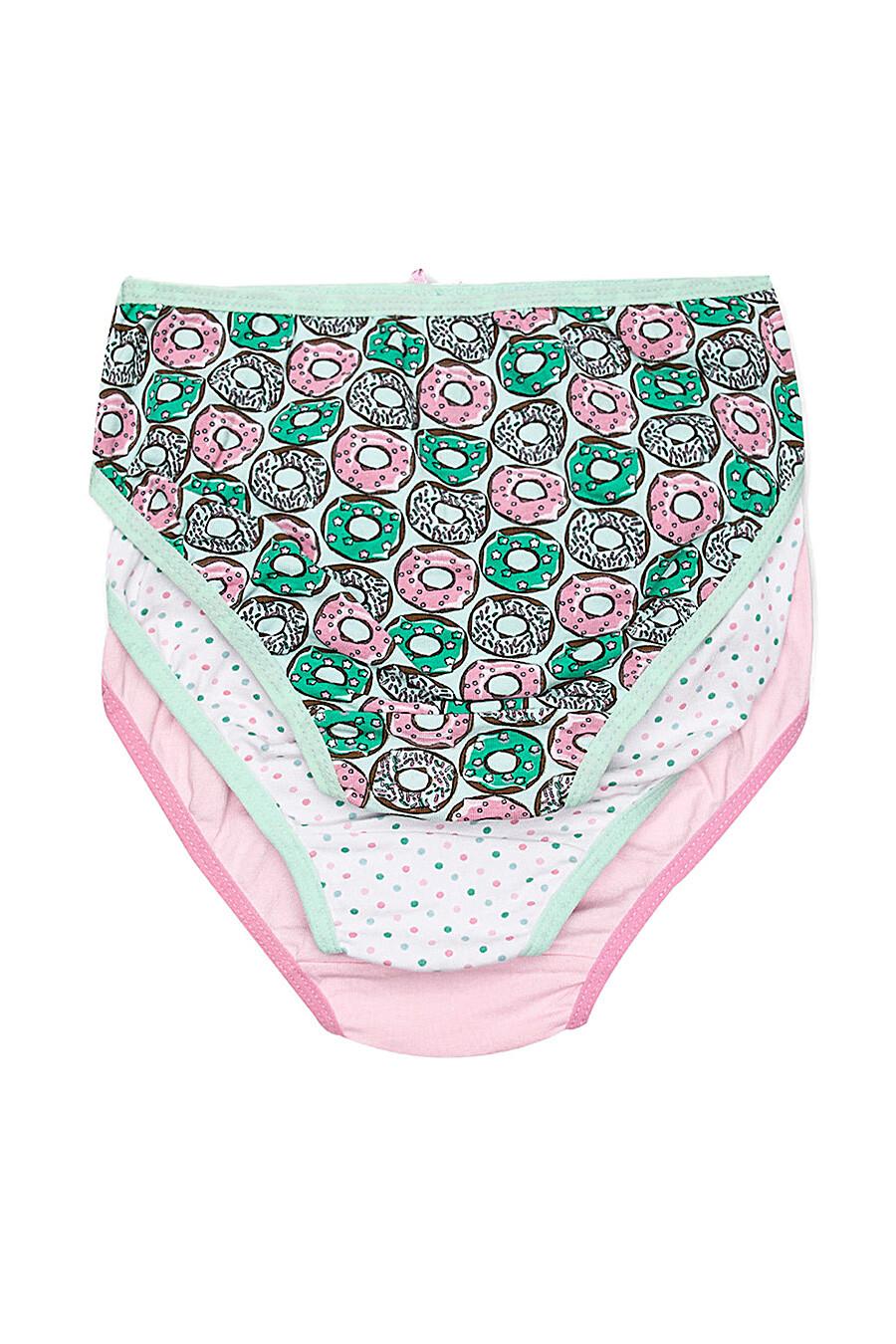 Трусы 3 шт. для девочек COCCODRILLO 247644 купить оптом от производителя. Совместная покупка детской одежды в OptMoyo