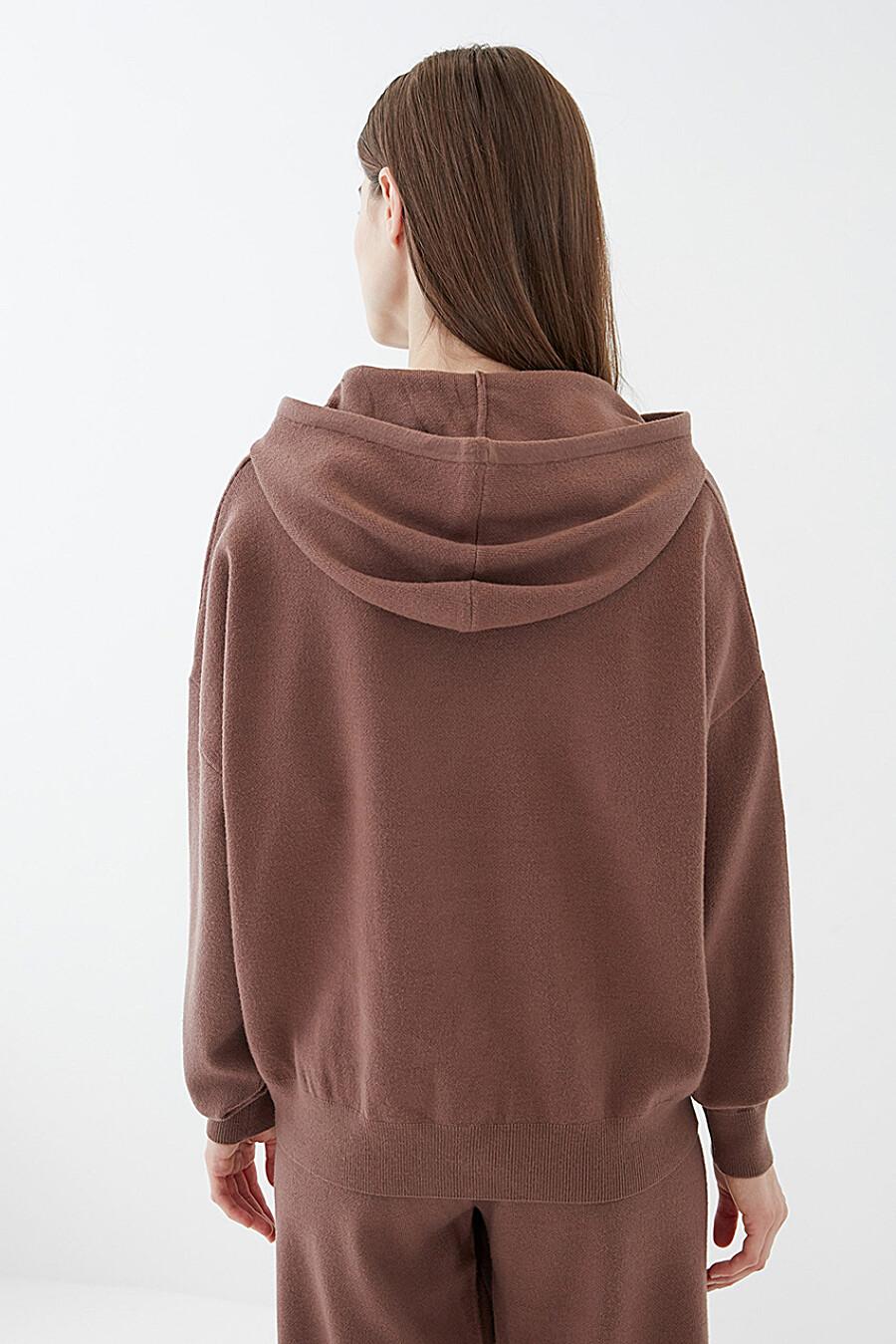 Худи для женщин ZARINA 261179 купить оптом от производителя. Совместная покупка женской одежды в OptMoyo