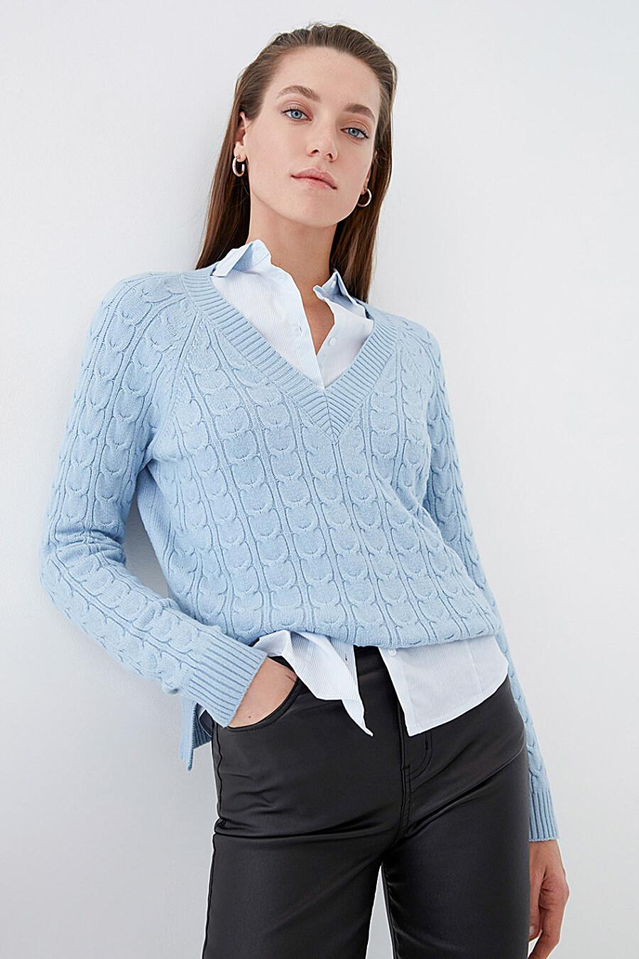 Джемпер для женщин ZARINA 261197 купить оптом от производителя. Совместная покупка женской одежды в OptMoyo