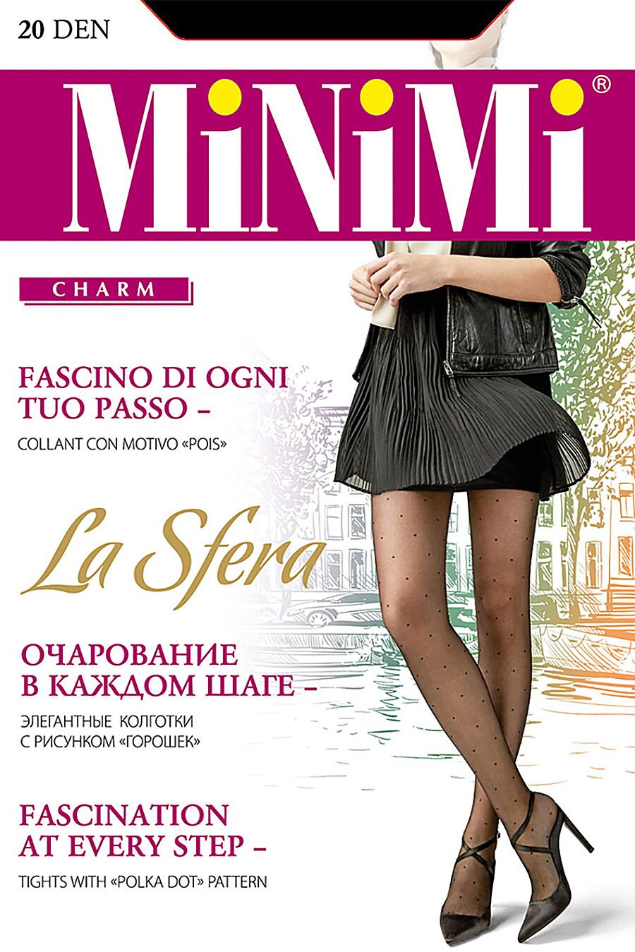 Колготки для женщин MINIMI 272748 купить оптом от производителя. Совместная покупка женской одежды в OptMoyo