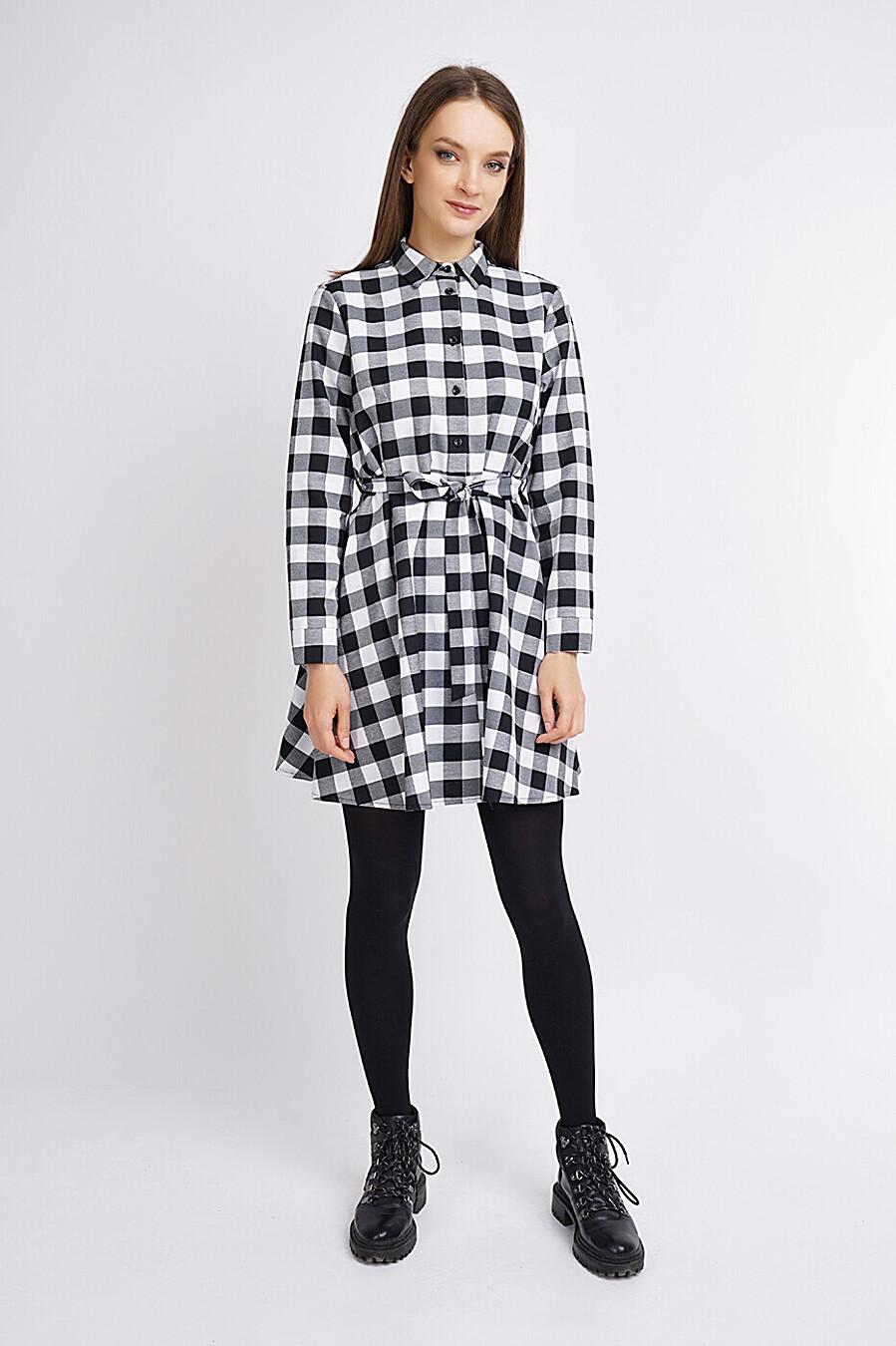 Платье для женщин CLEVER 272865 купить оптом от производителя. Совместная покупка женской одежды в OptMoyo