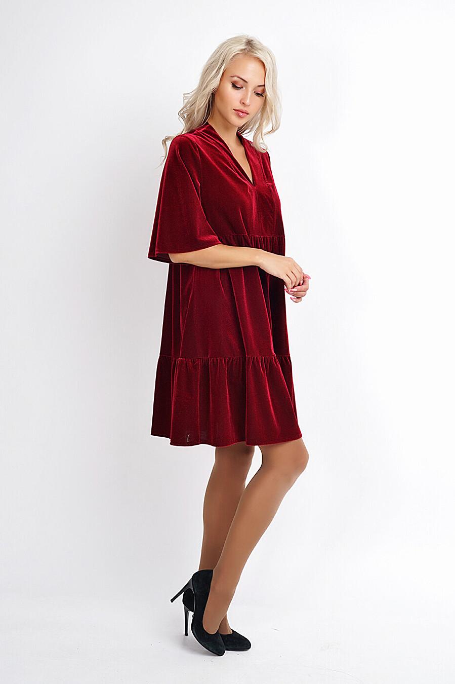 Платье для женщин CLEVER 272868 купить оптом от производителя. Совместная покупка женской одежды в OptMoyo