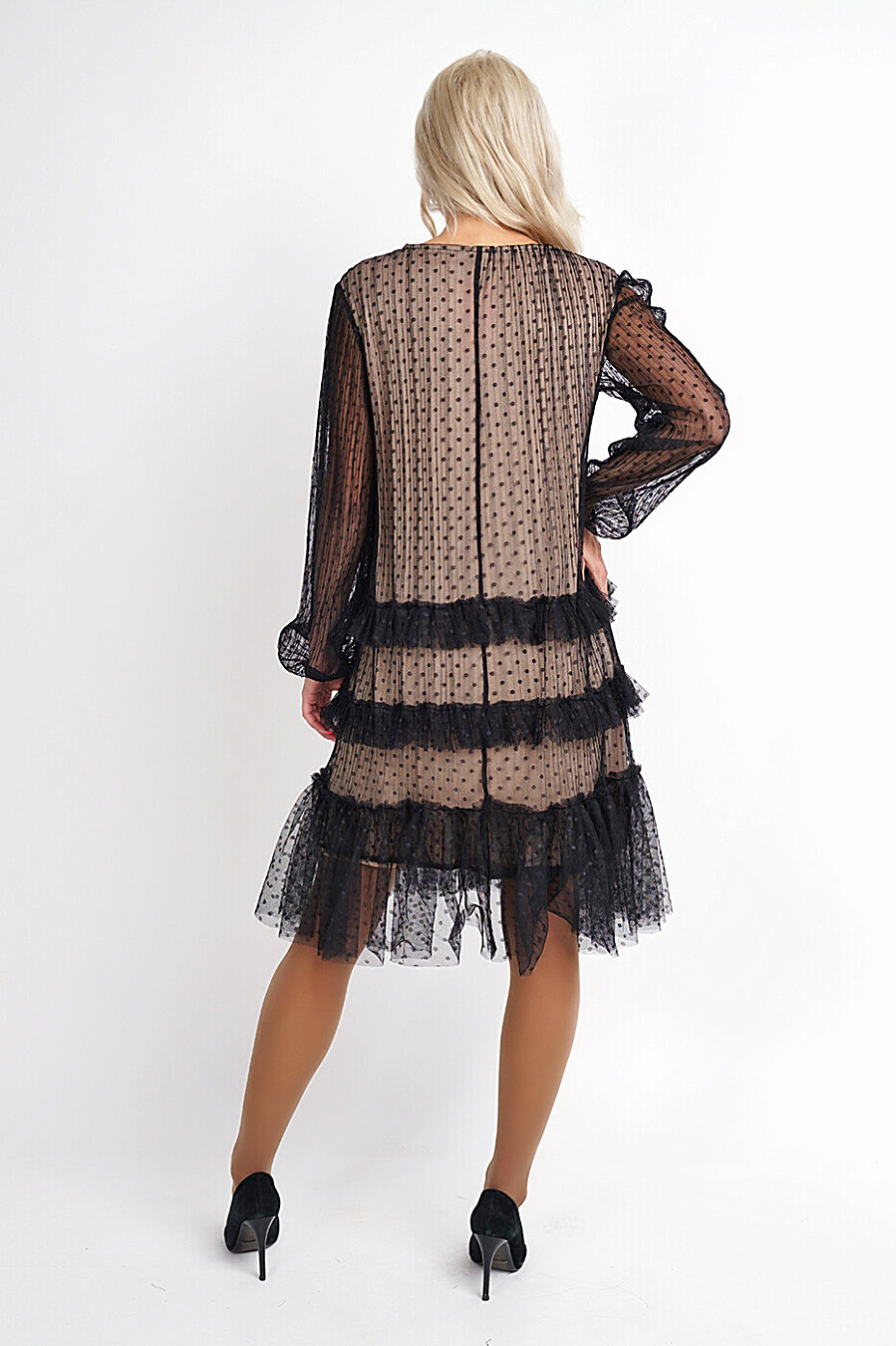 Платье для женщин CLEVER 272872 купить оптом от производителя. Совместная покупка женской одежды в OptMoyo