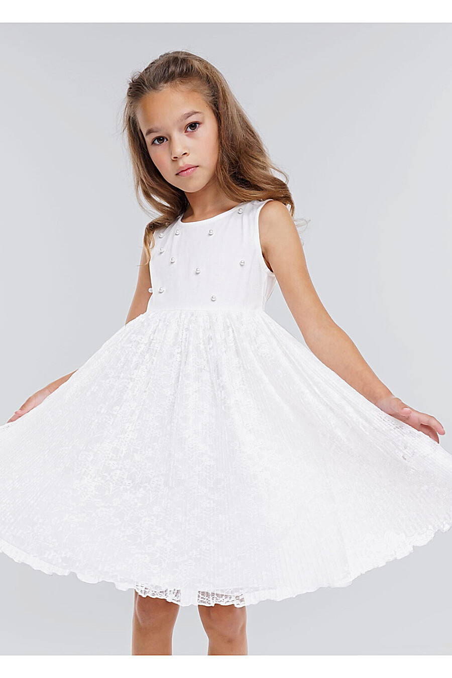 Платье для девочек CLEVER 272909 купить оптом от производителя. Совместная покупка детской одежды в OptMoyo