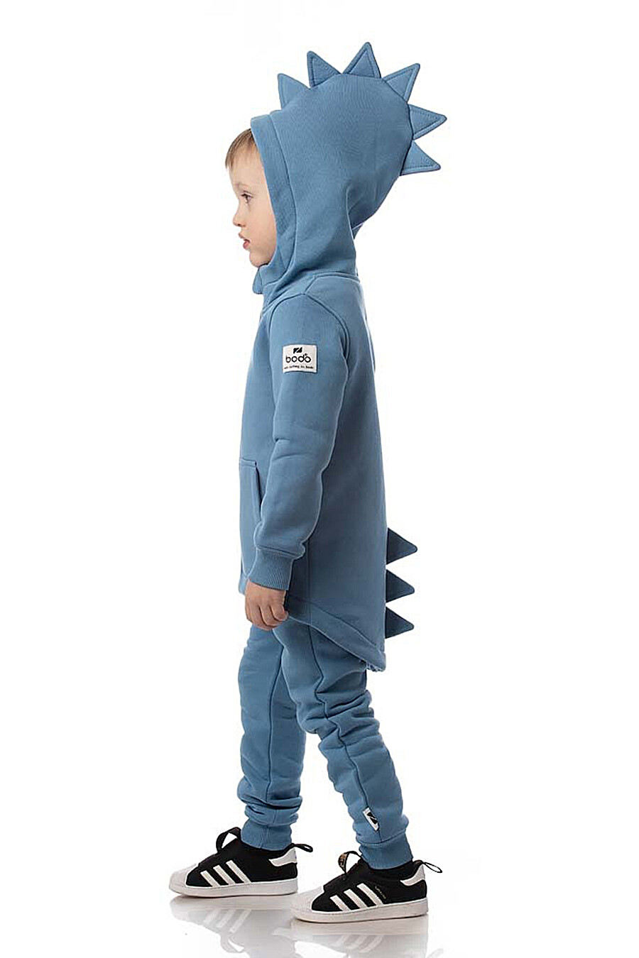 Костюм(Свитшот+Брюки) для мальчиков BODO 288744 купить оптом от производителя. Совместная покупка детской одежды в OptMoyo